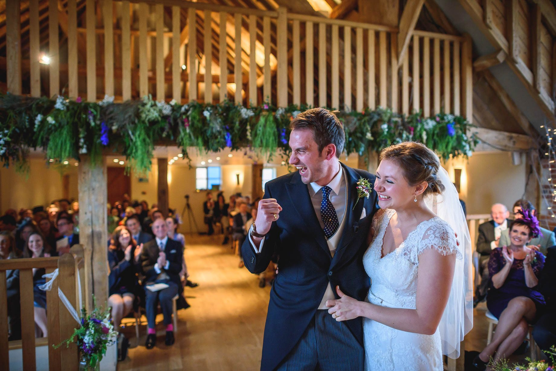 Bury Court Barn wedding photography - Ashley and Henry by Guy Collier Photography (55 of 188)