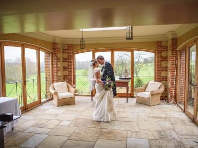 Bury Court Barn wedding photography - Ashley and Henry