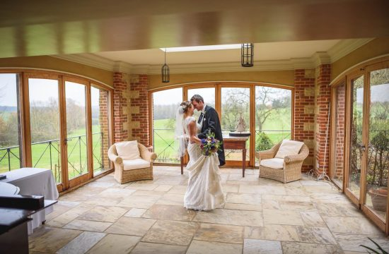 Bury Court Barn wedding photography - Ashley and Henry