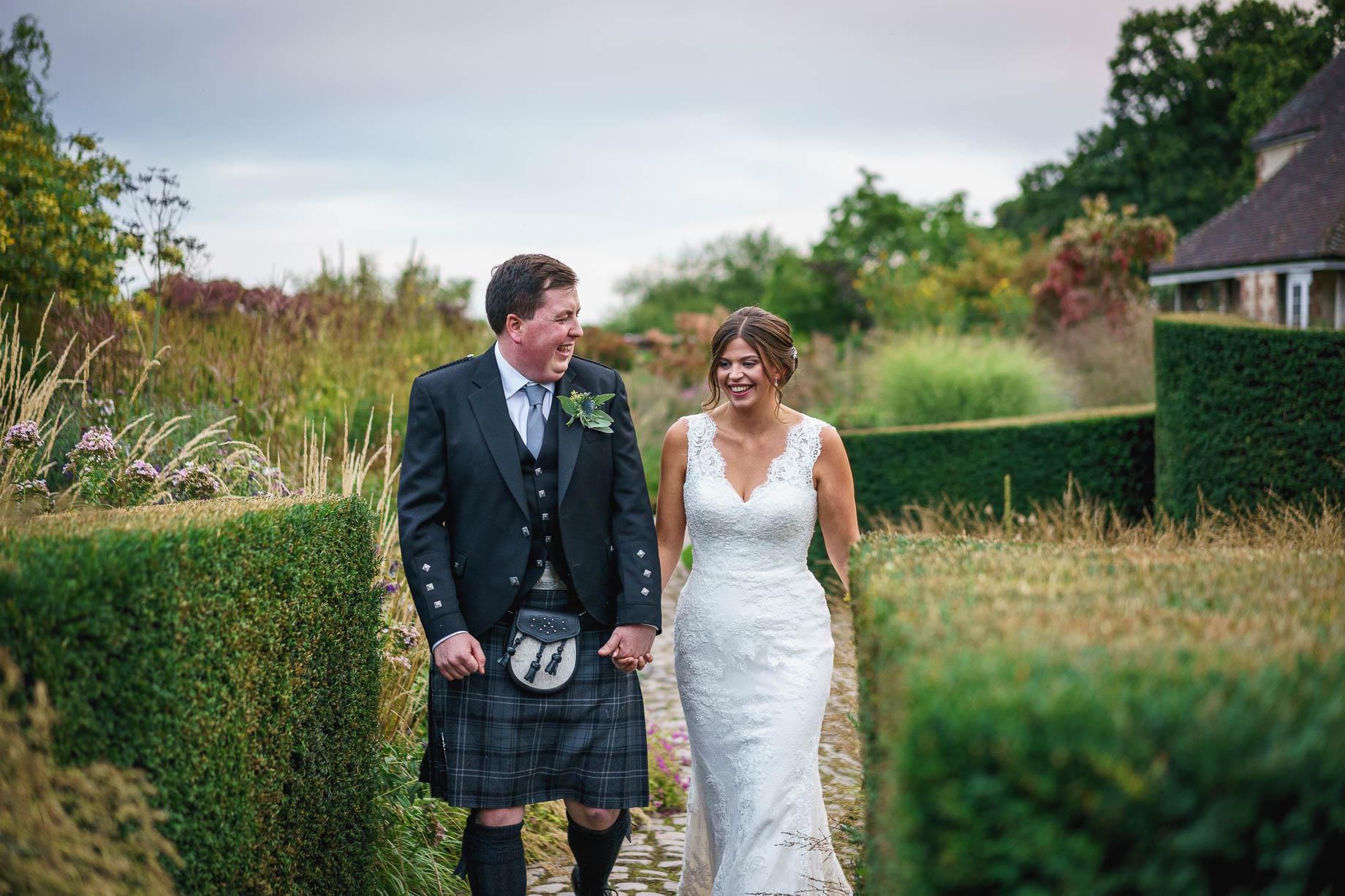 Bury Court Barn wedding photography - Esther + Gregor