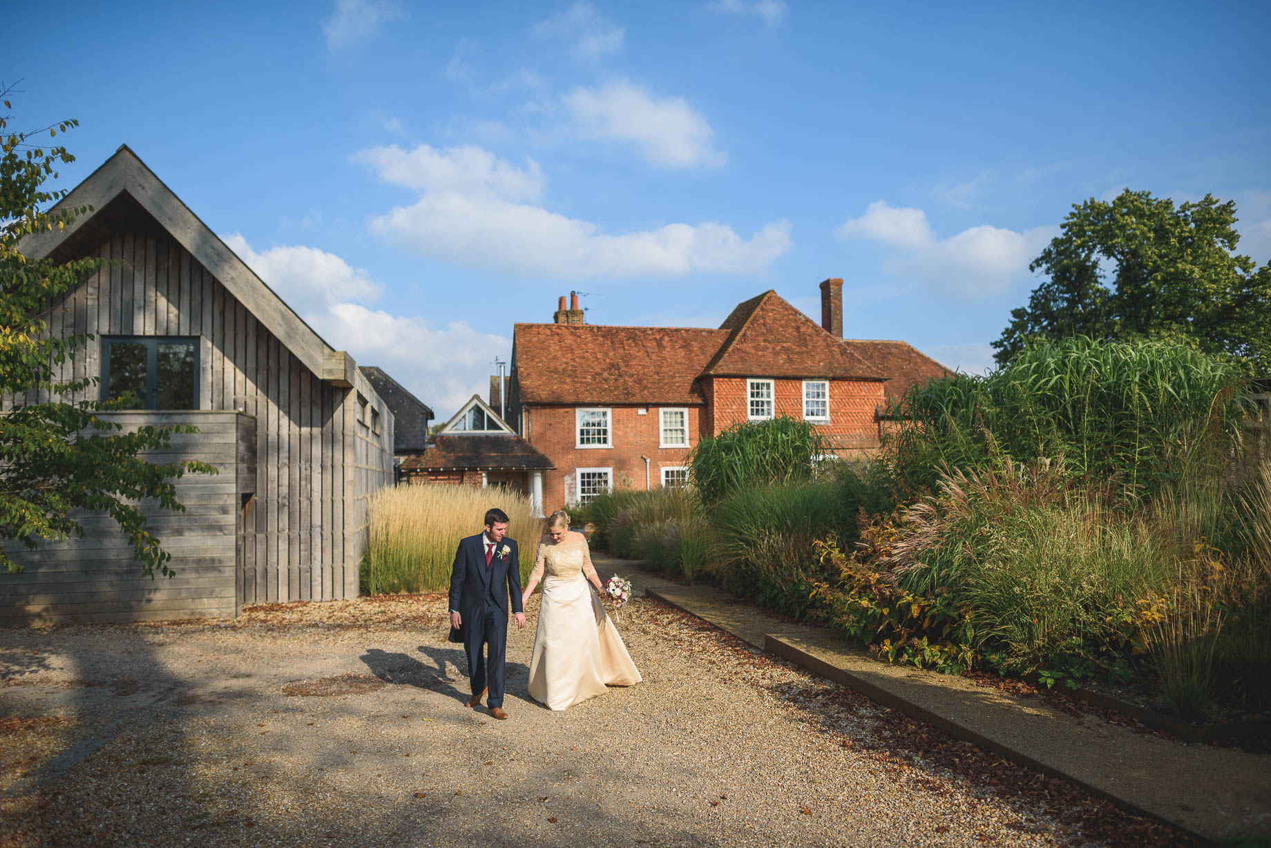 Bury Court Barn wedding photography - Guy Collier - Hannah and Mark (119 of 191)