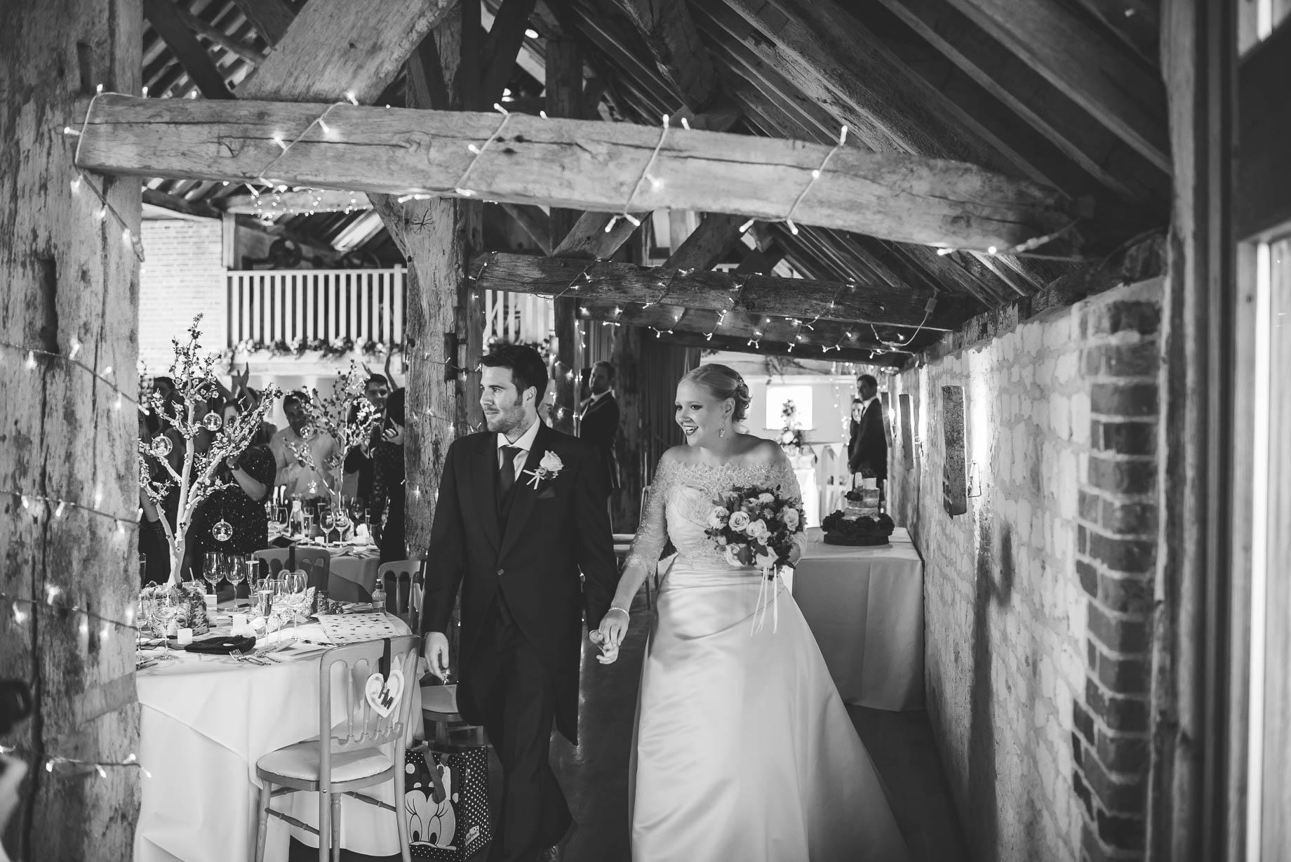 Bury Court Barn wedding photography - Guy Collier - Hannah and Mark (137 of 191)