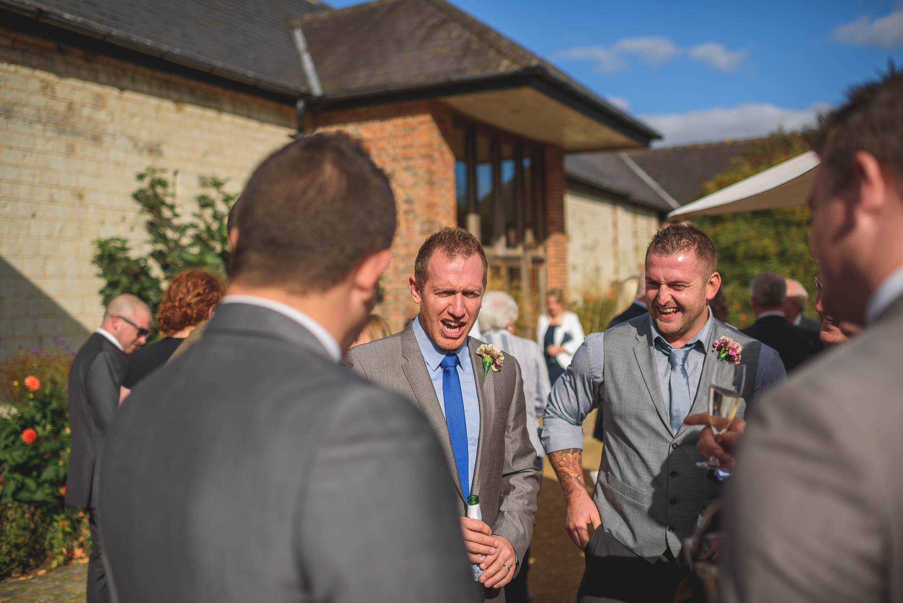 Bury Court Barn wedding photography - Guy Collier - Kate and Russ (101 of 187)