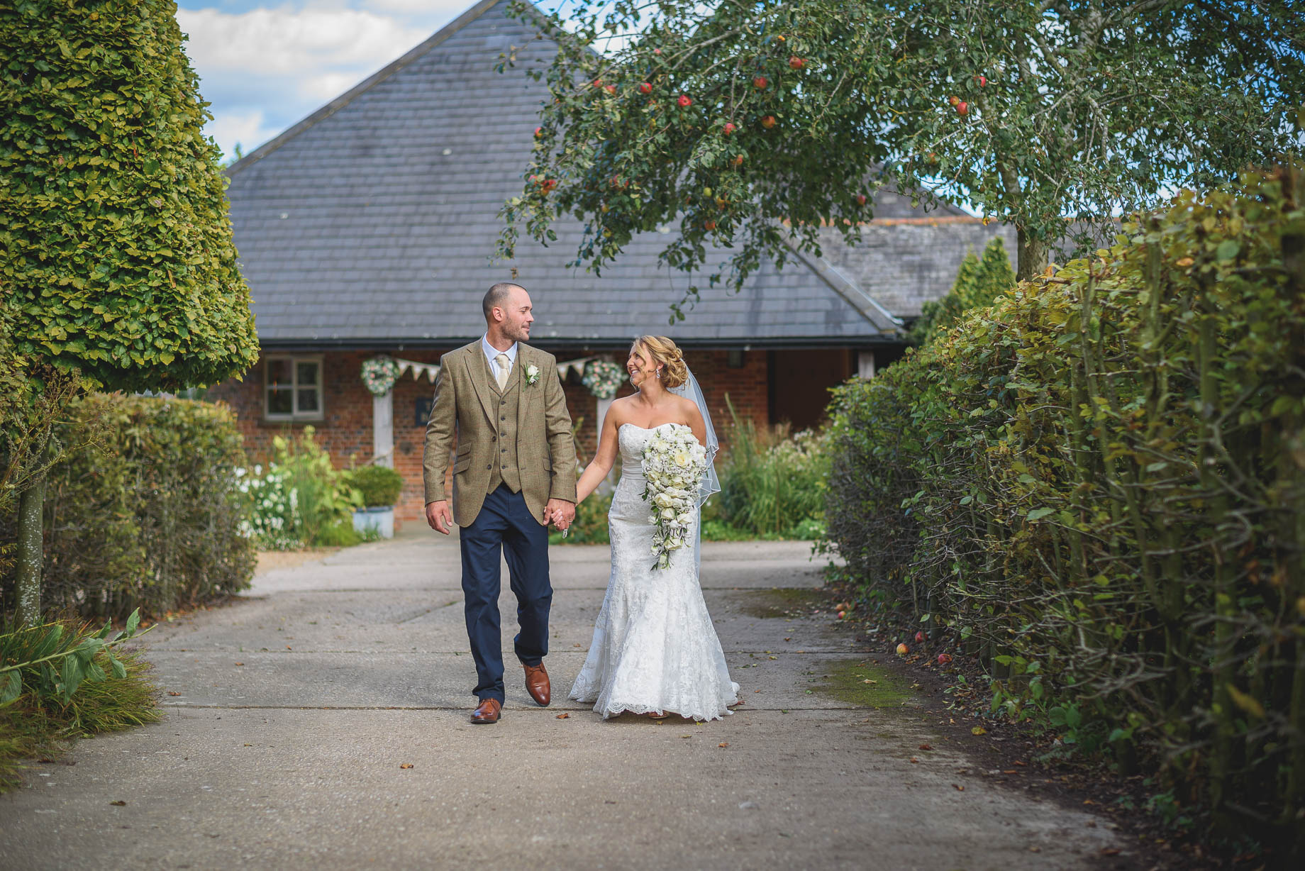 Bury Court Barn wedding photography - Guy Collier - Kate and Russ (102 of 187)