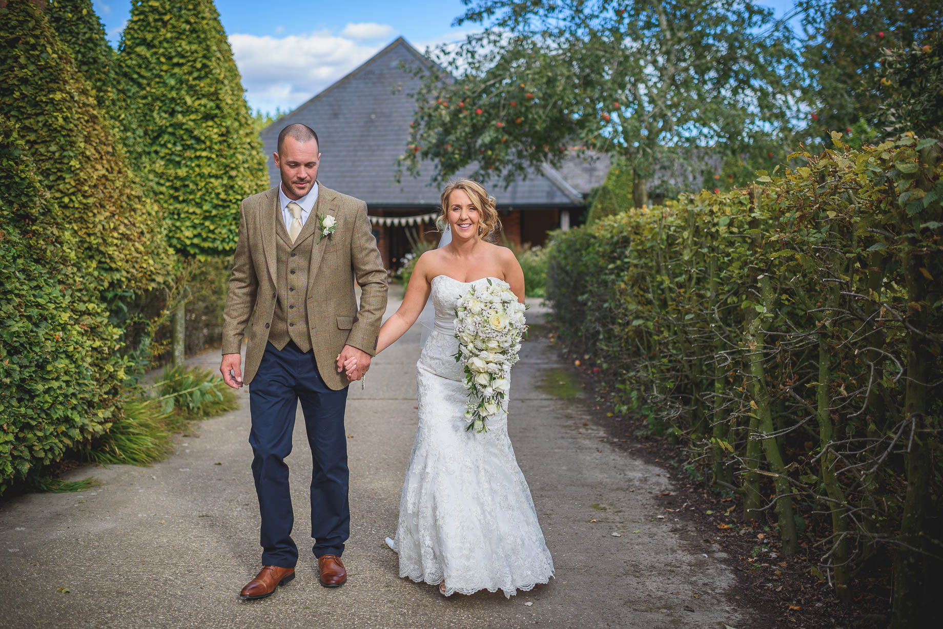 Bury Court Barn wedding photography - Guy Collier - Kate and Russ (103 of 187)