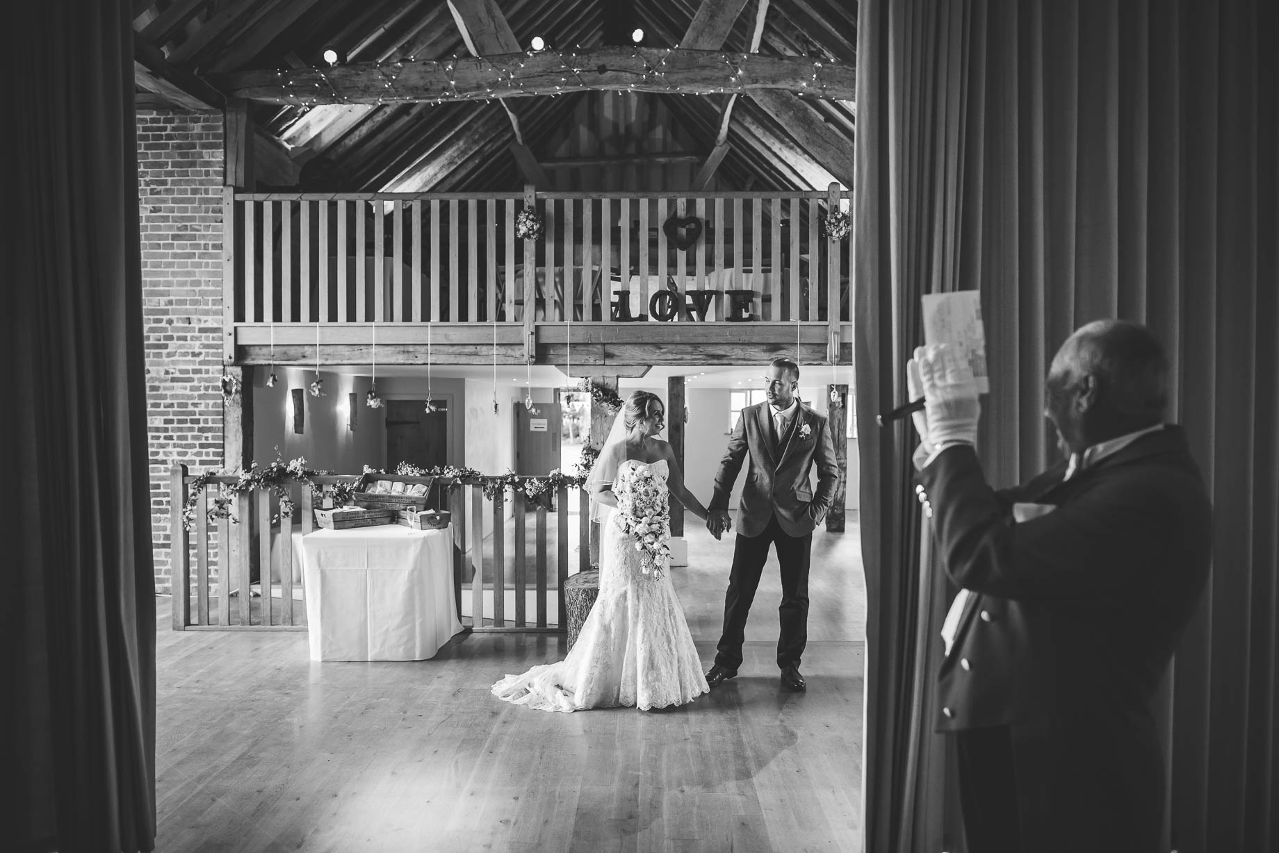Bury Court Barn wedding photography - Guy Collier - Kate and Russ (123 of 187)