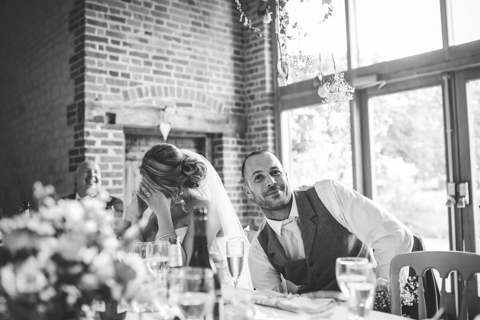 Bury Court Barn wedding photography - Guy Collier - Kate and Russ (146 of 187)