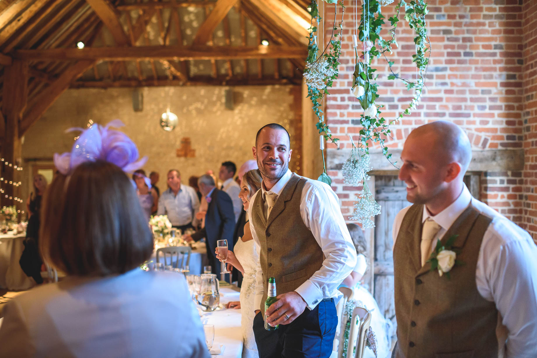 Bury Court Barn wedding photography - Guy Collier - Kate and Russ (157 of 187)