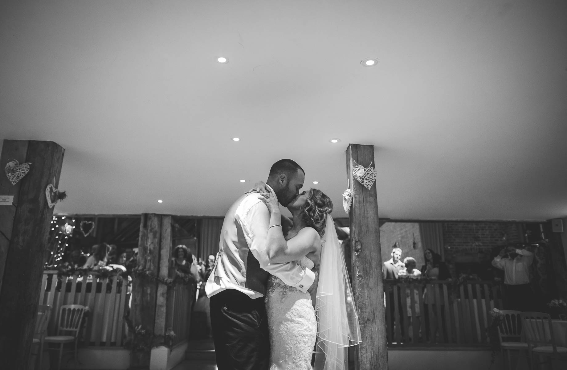 Bury Court Barn wedding photography - Guy Collier - Kate and Russ (183 of 187)