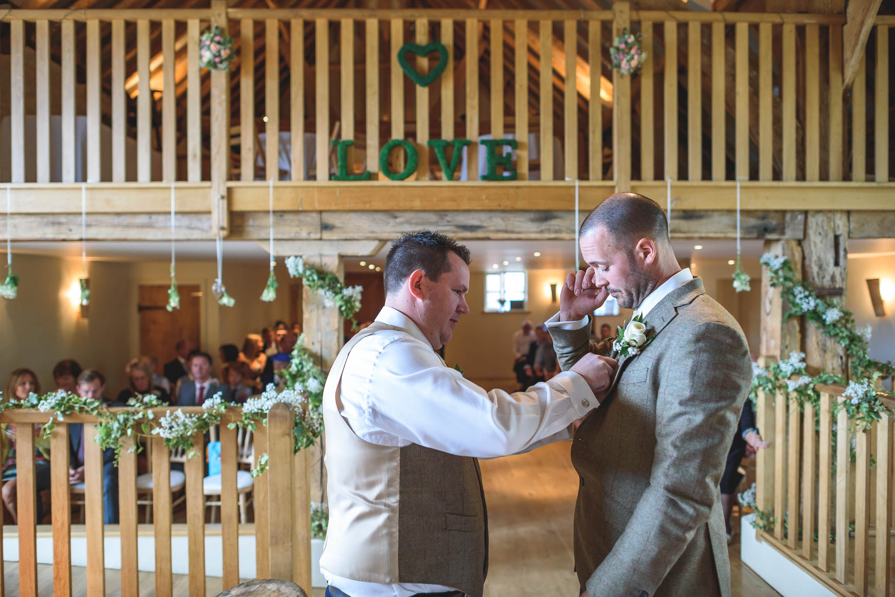 Bury Court Barn wedding photography - Guy Collier - Kate and Russ (62 of 187)