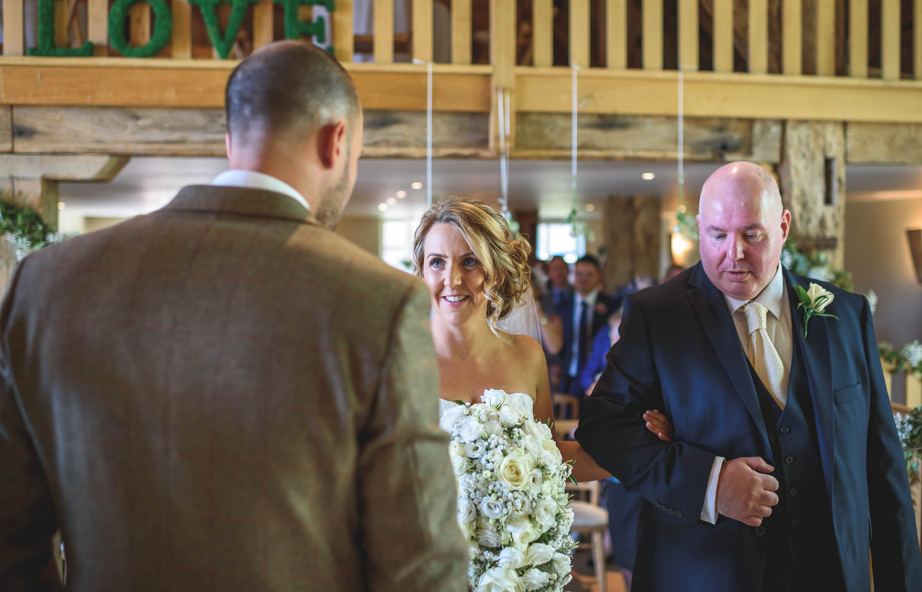 Bury Court Barn wedding photography - Guy Collier - Kate and Russ (66 of 187)
