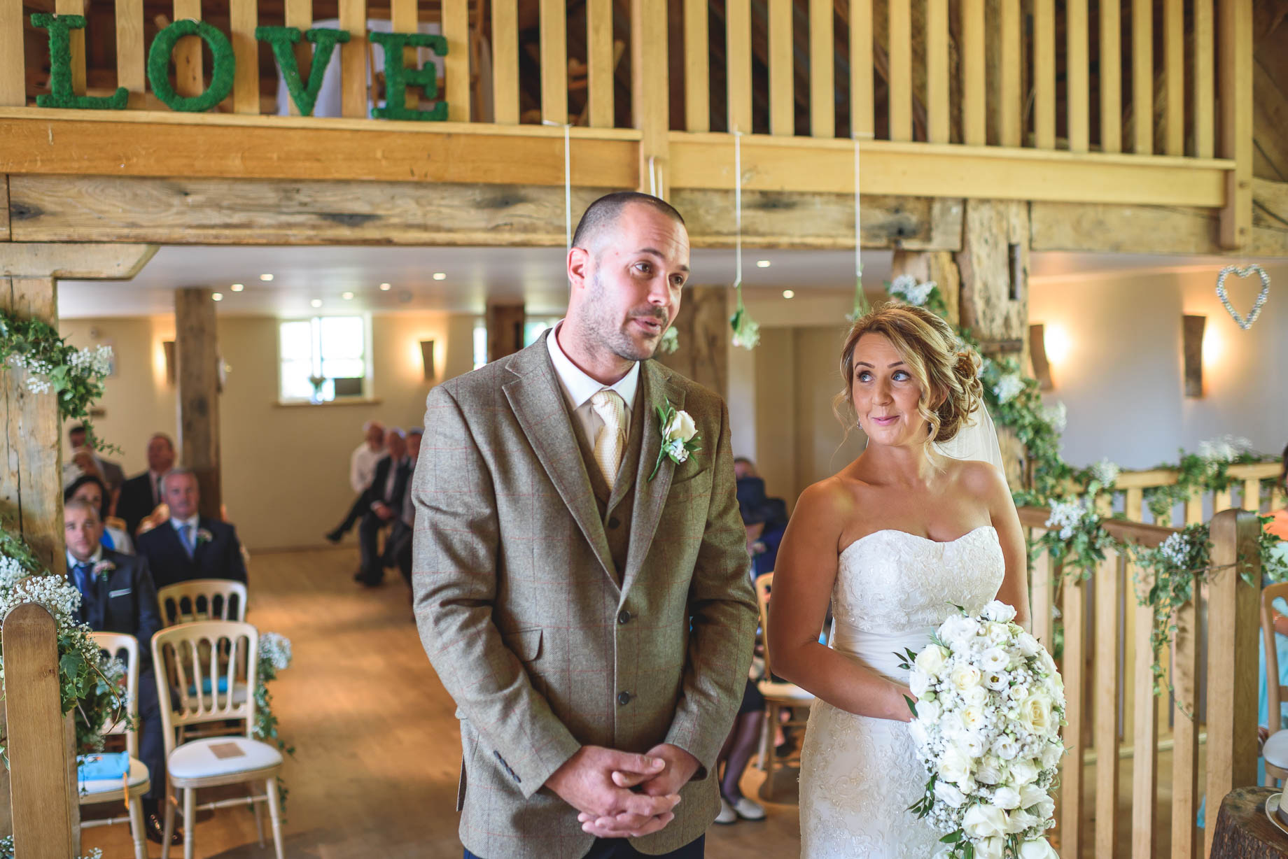 Bury Court Barn wedding photography - Guy Collier - Kate and Russ (67 of 187)