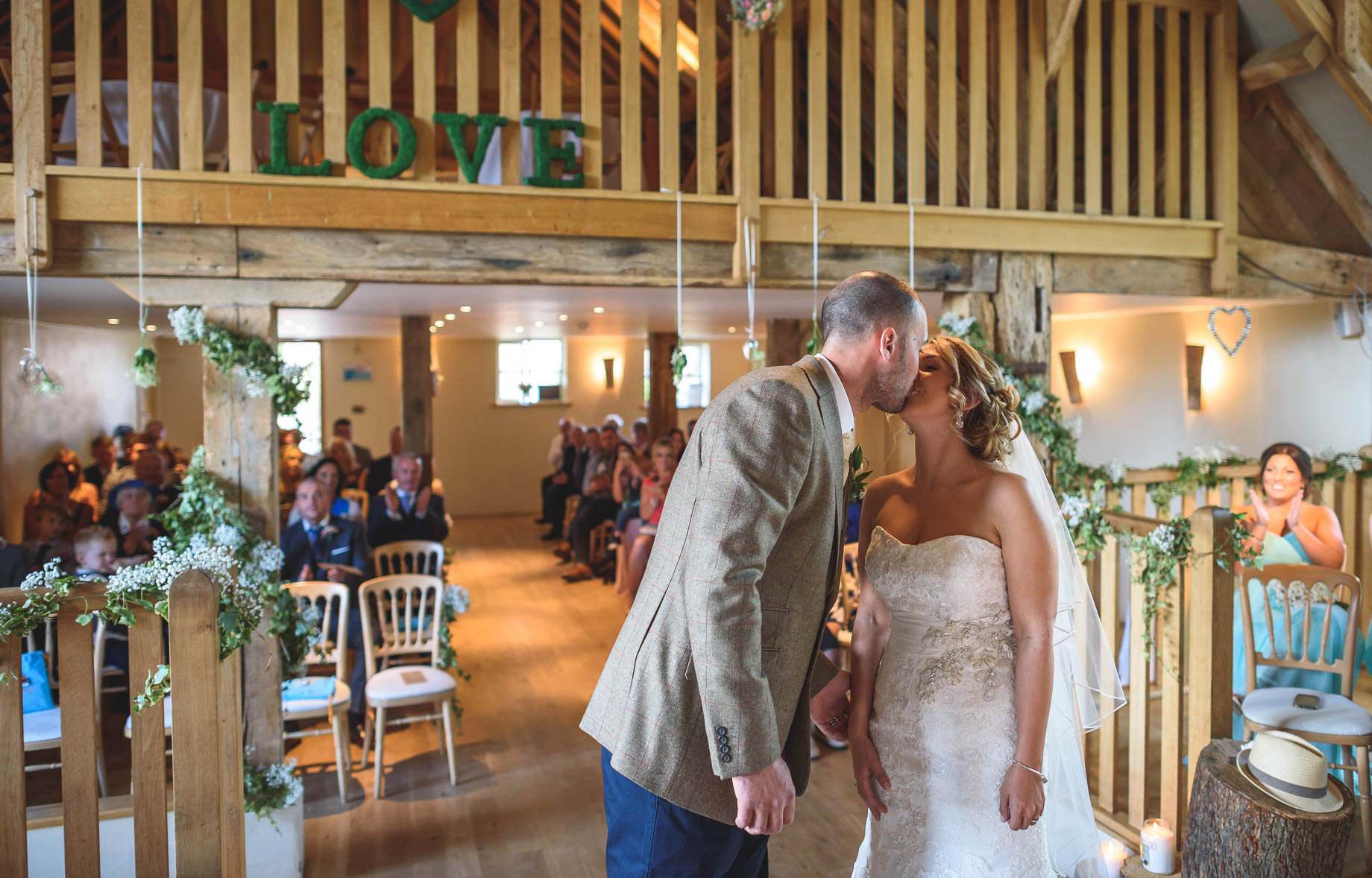 Bury Court Barn wedding photography - Guy Collier - Kate and Russ (74 of 187)