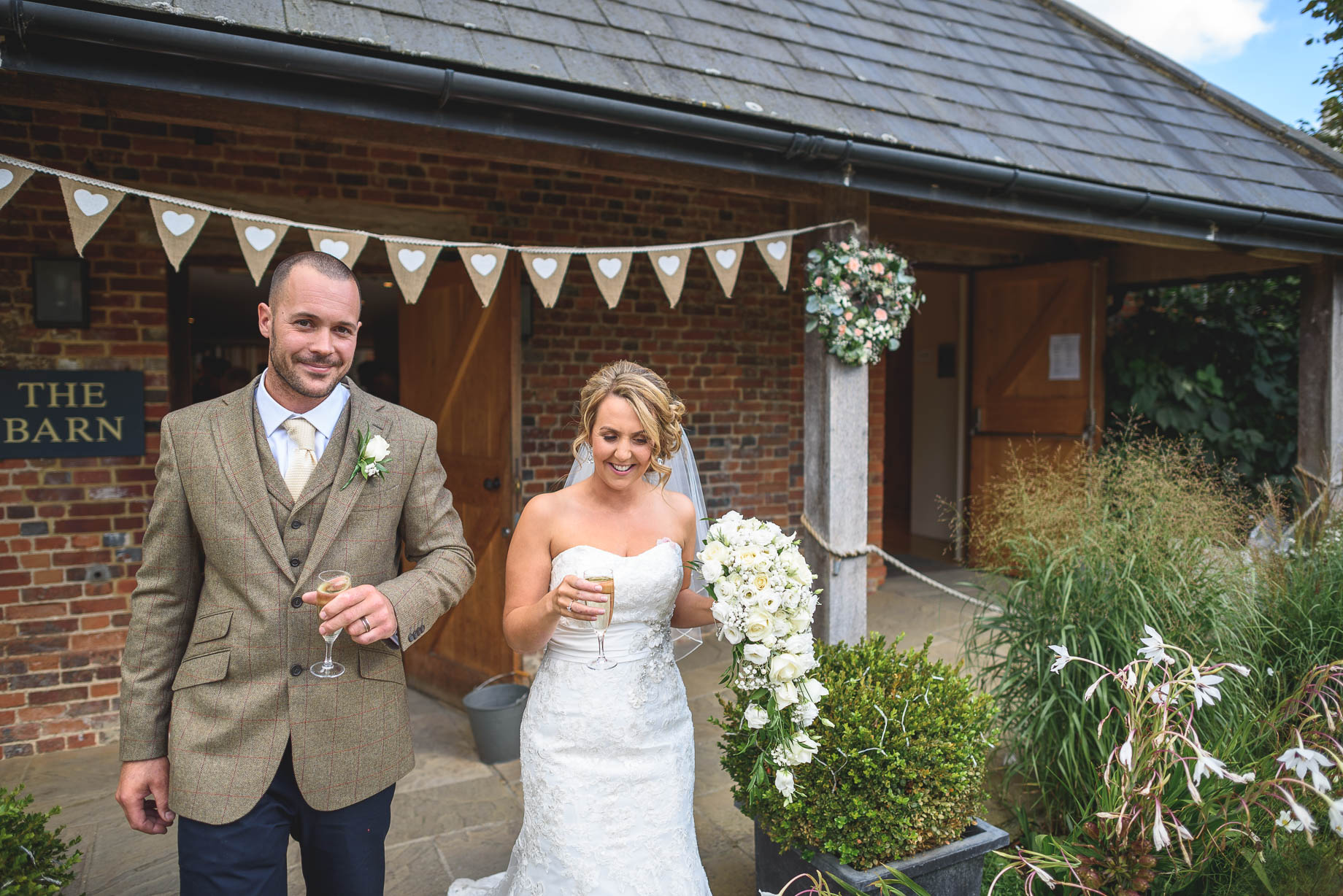 Bury Court Barn wedding photography - Guy Collier - Kate and Russ (78 of 187)