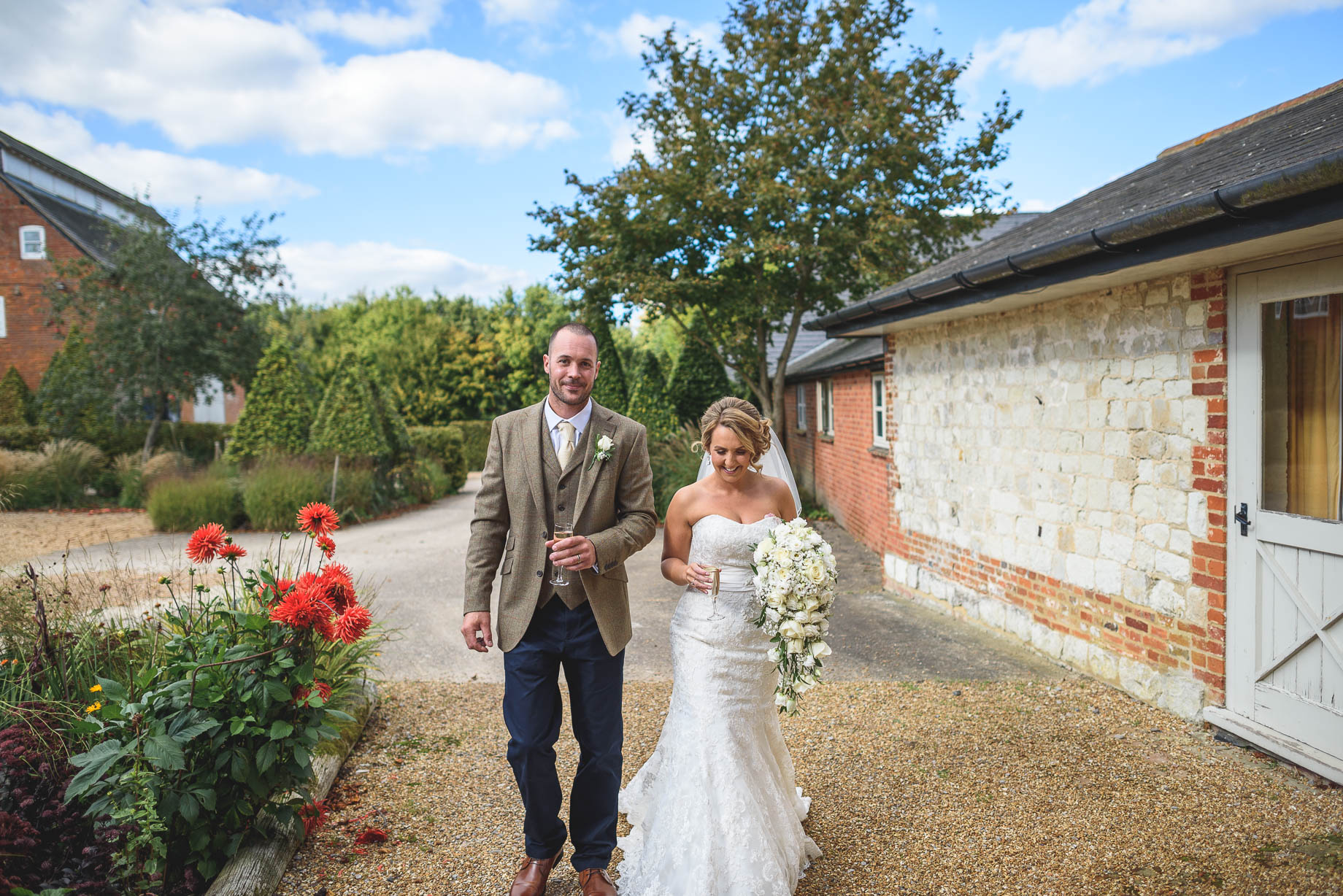 Bury Court Barn wedding photography - Guy Collier - Kate and Russ (81 of 187)