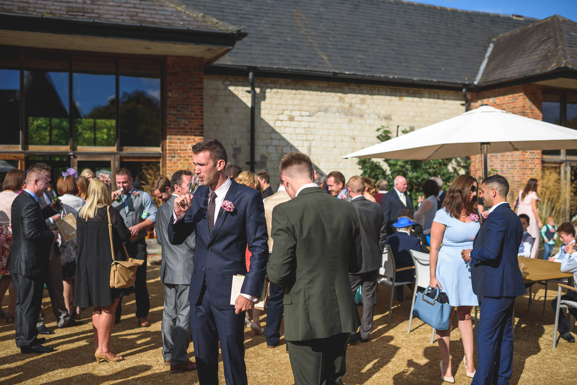 Bury Court Barn wedding photography - Guy Collier - Kate and Russ (84 of 187)
