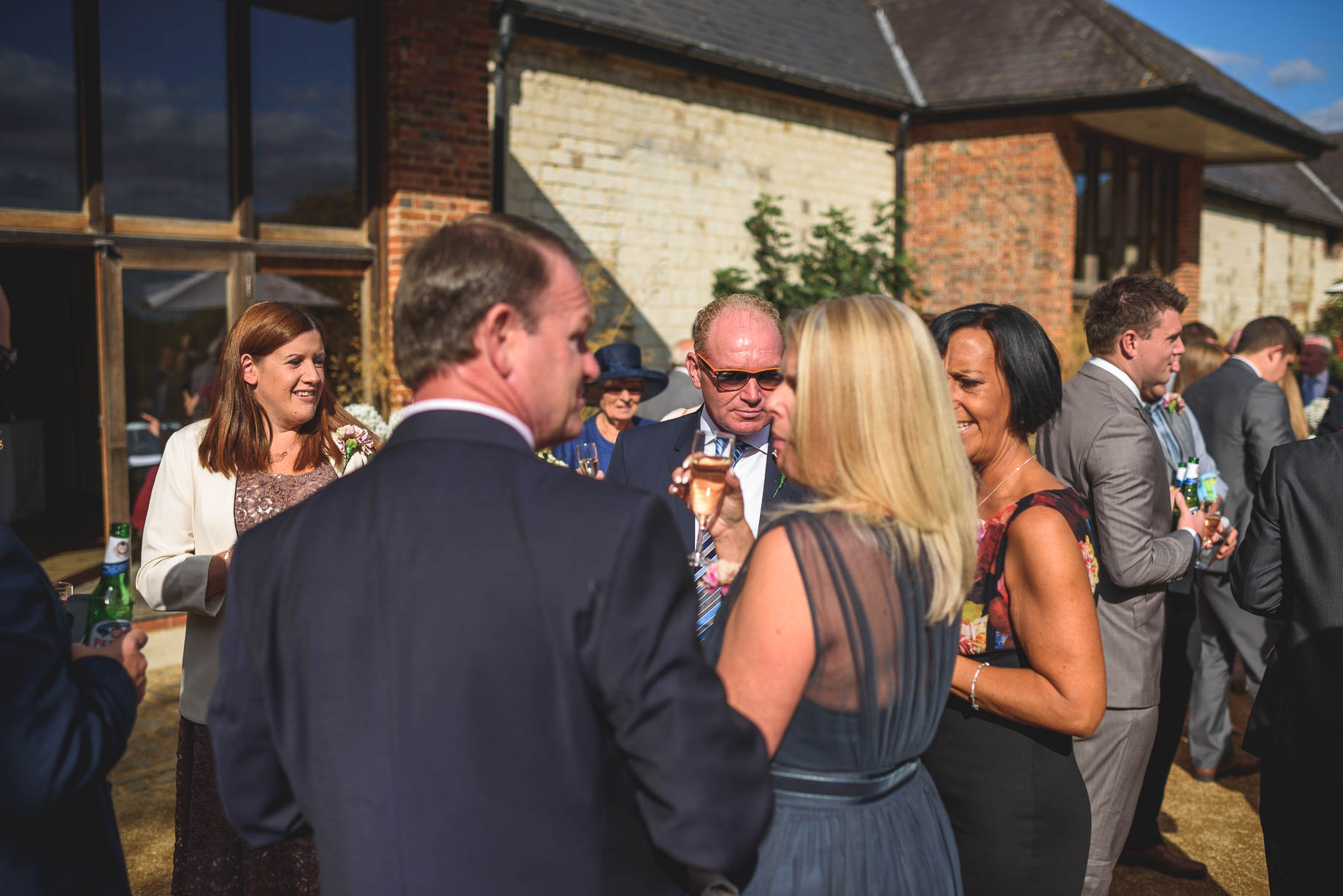 Bury Court Barn wedding photography - Guy Collier - Kate and Russ (86 of 187)