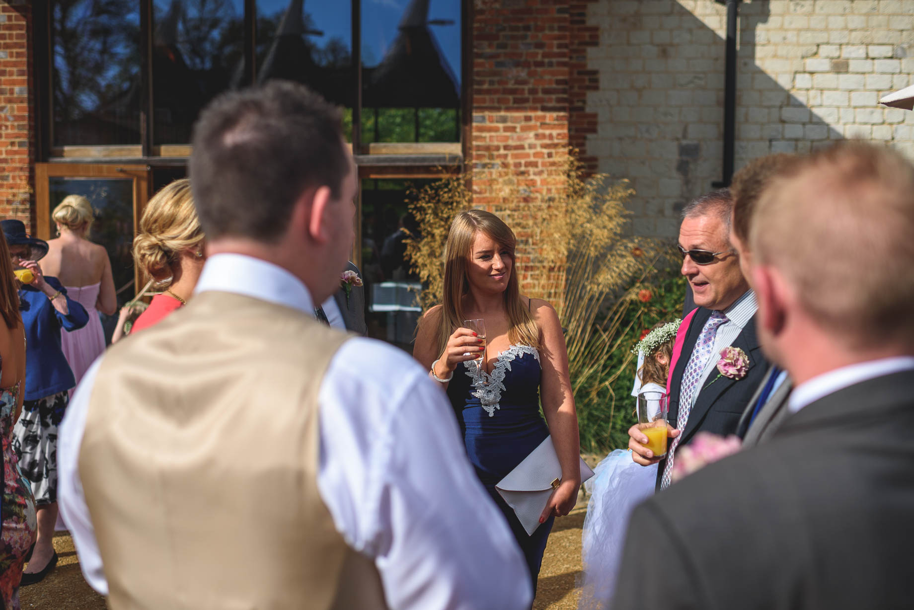 Bury Court Barn wedding photography - Guy Collier - Kate and Russ (89 of 187)