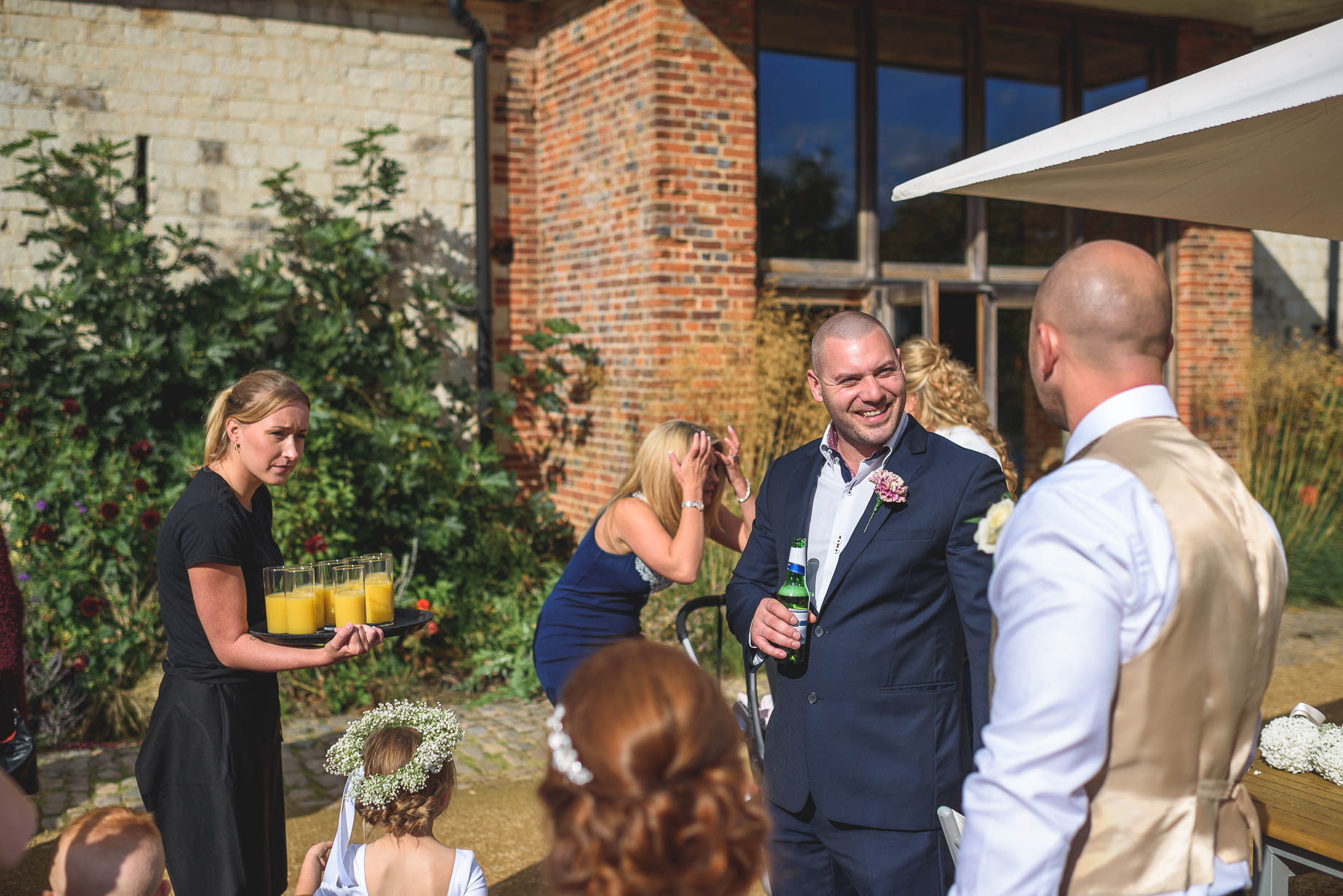 Bury Court Barn wedding photography - Guy Collier - Kate and Russ (90 of 187)