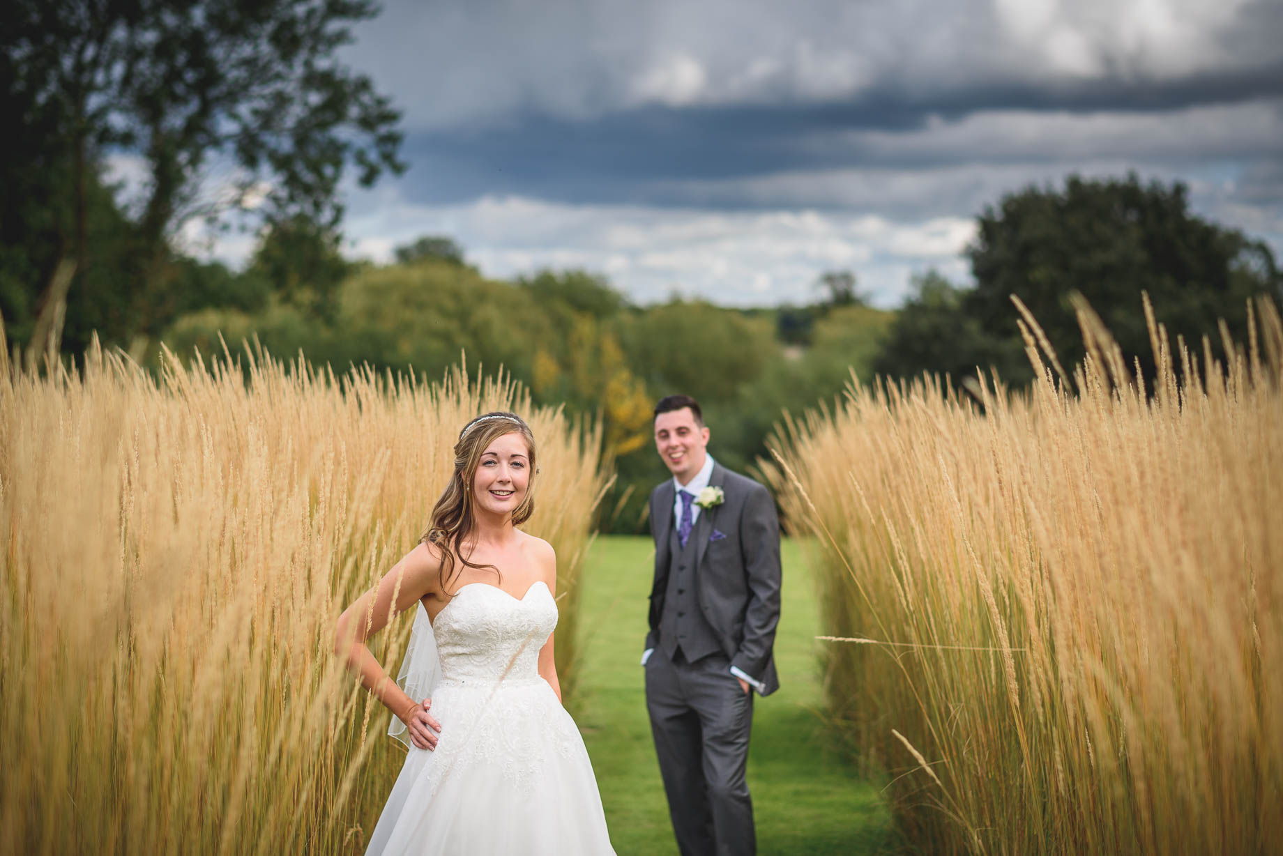 Bury Court Barn wedding photography - Guy Collier - Kirsty and Lewis (102 of 150)