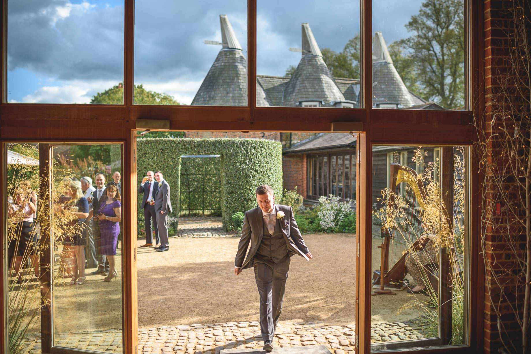 Bury Court Barn wedding photography - Guy Collier - Kirsty and Lewis (109 of 150)