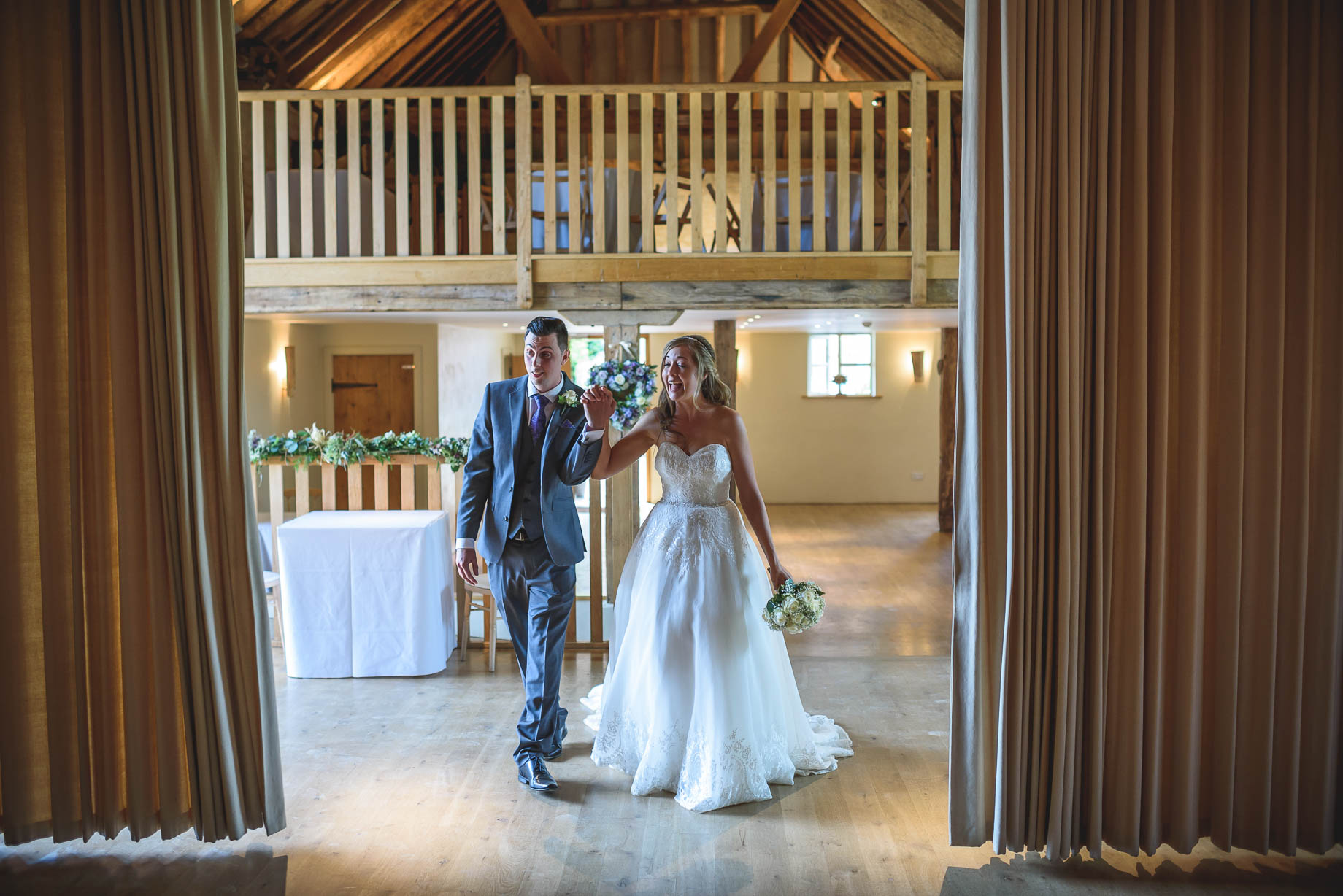 Bury Court Barn wedding photography - Guy Collier - Kirsty and Lewis (115 of 150)