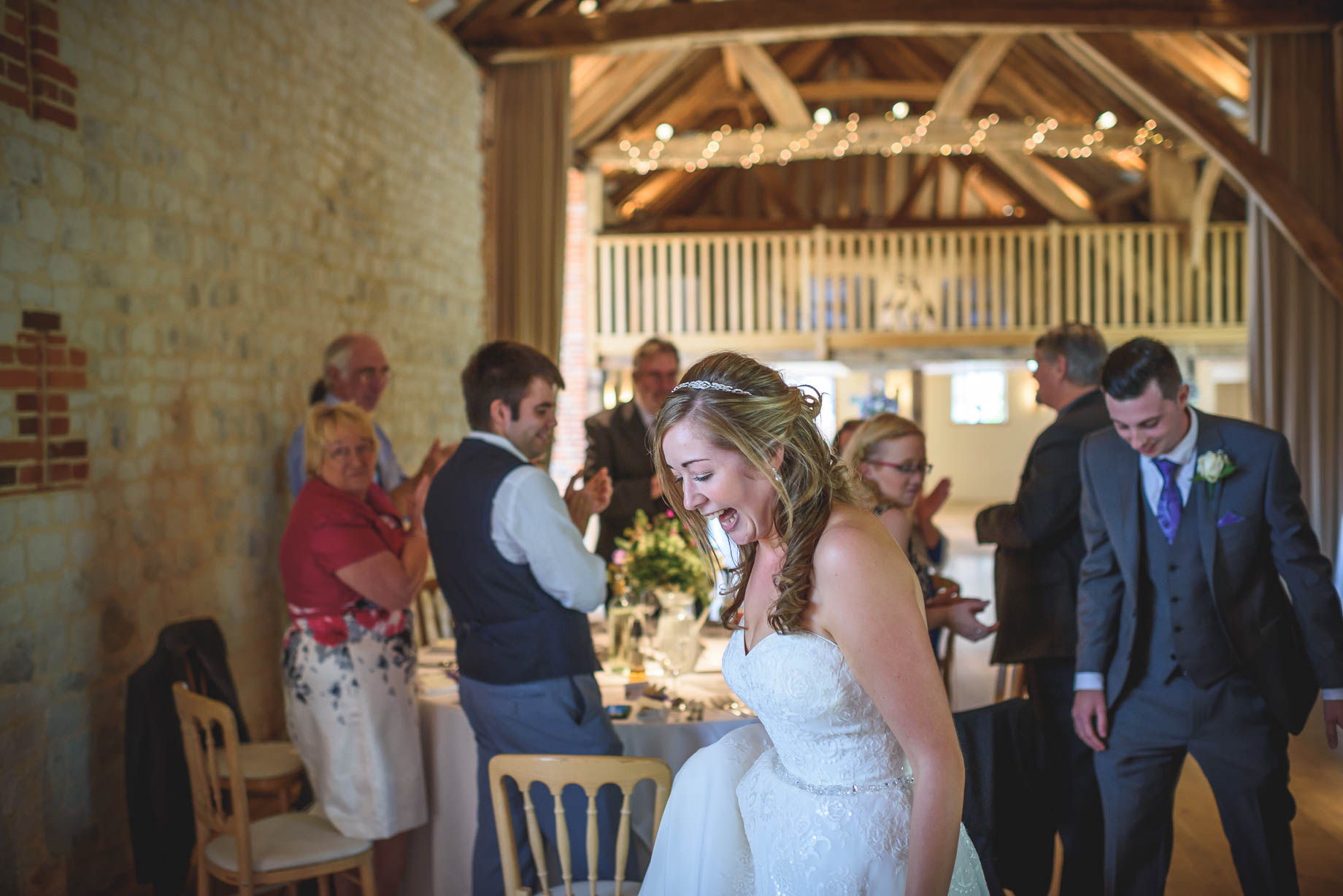 Bury Court Barn wedding photography - Guy Collier - Kirsty and Lewis (116 of 150)