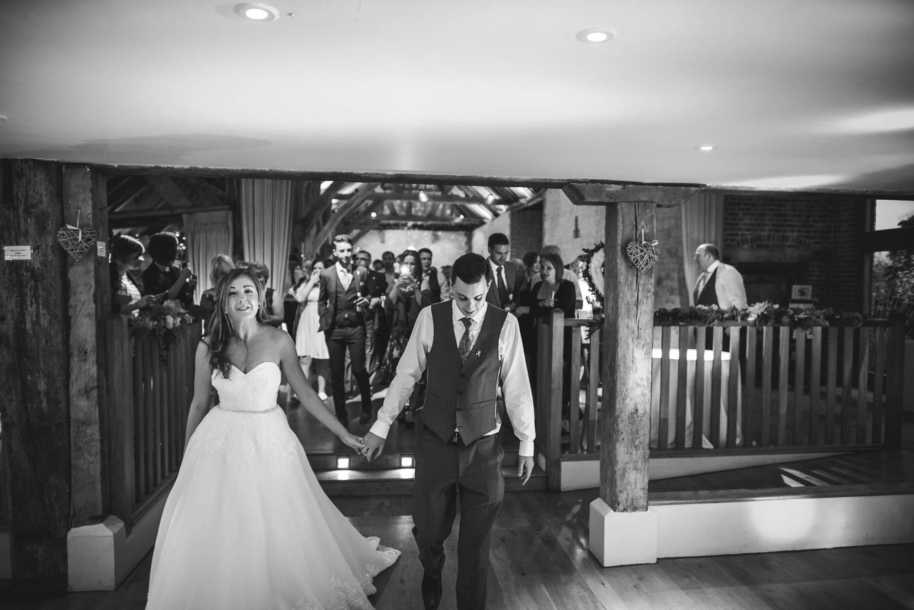 Bury Court Barn wedding photography - Guy Collier - Kirsty and Lewis (141 of 150)