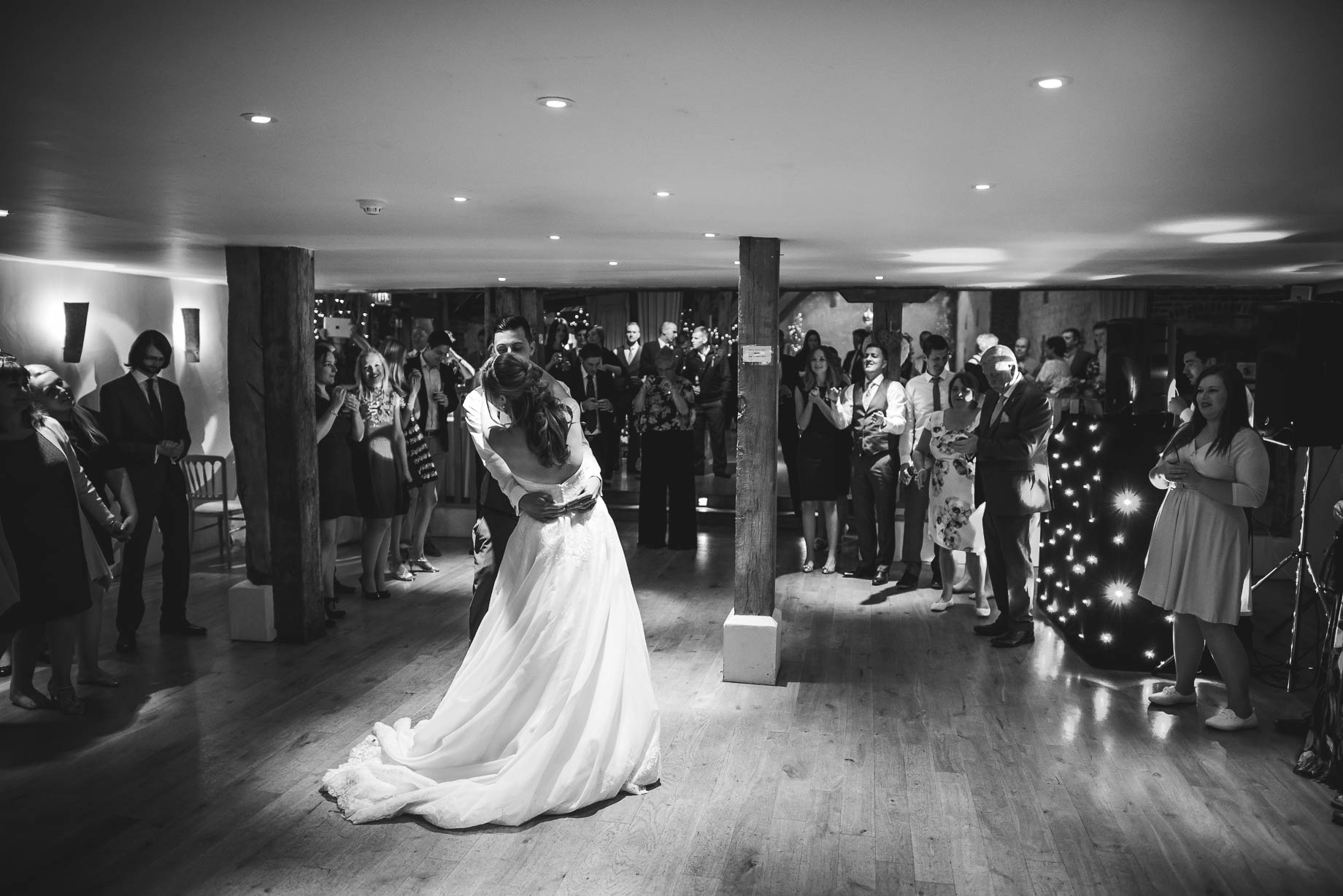 Bury Court Barn wedding photography - Guy Collier - Kirsty and Lewis (142 of 150)