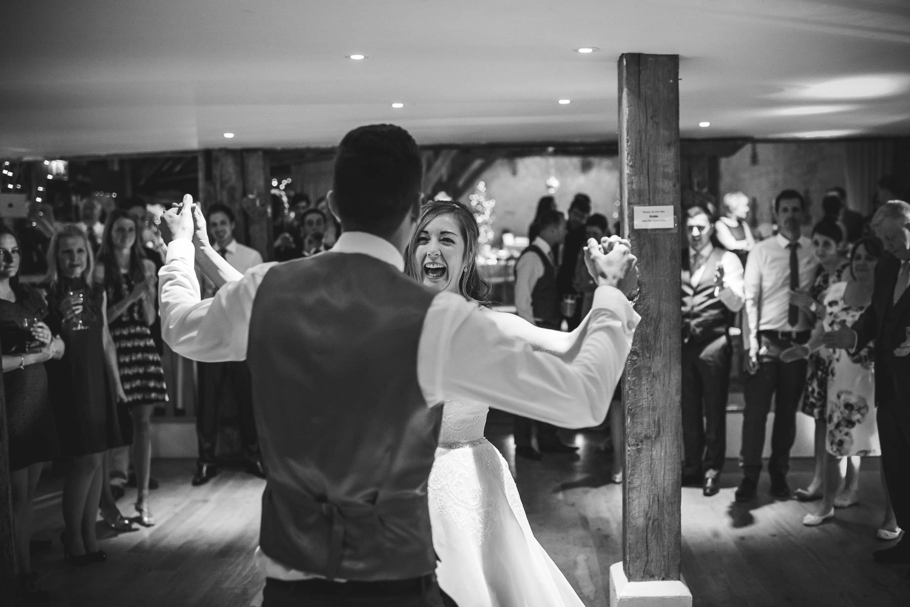 Bury Court Barn wedding photography - Guy Collier - Kirsty and Lewis (143 of 150)