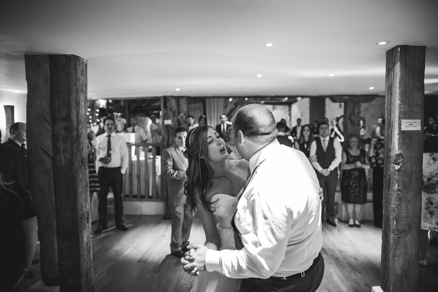Bury Court Barn wedding photography - Guy Collier - Kirsty and Lewis (149 of 150)