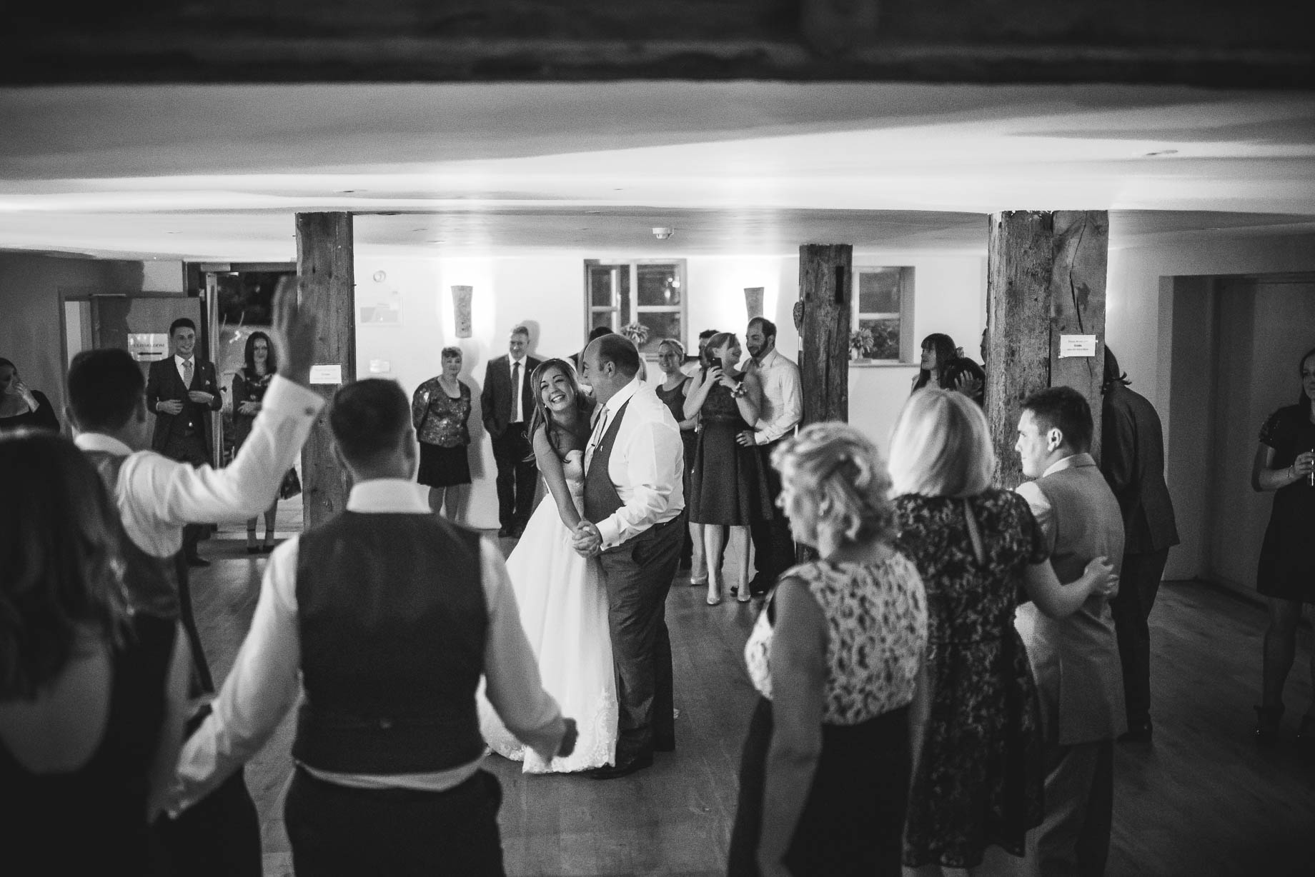 Bury Court Barn wedding photography - Guy Collier - Kirsty and Lewis (150 of 150)