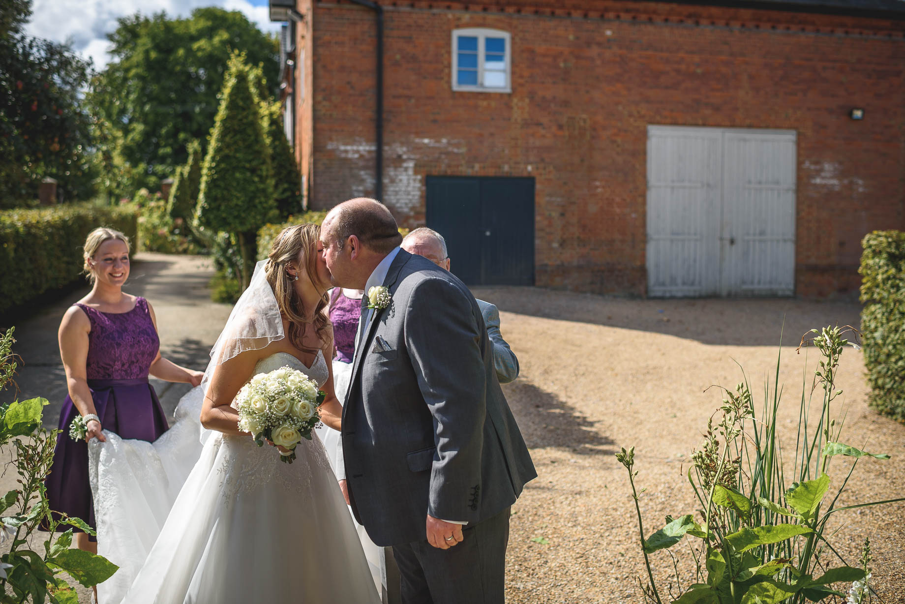 Bury Court Barn wedding photography - Guy Collier - Kirsty and Lewis (51 of 150)
