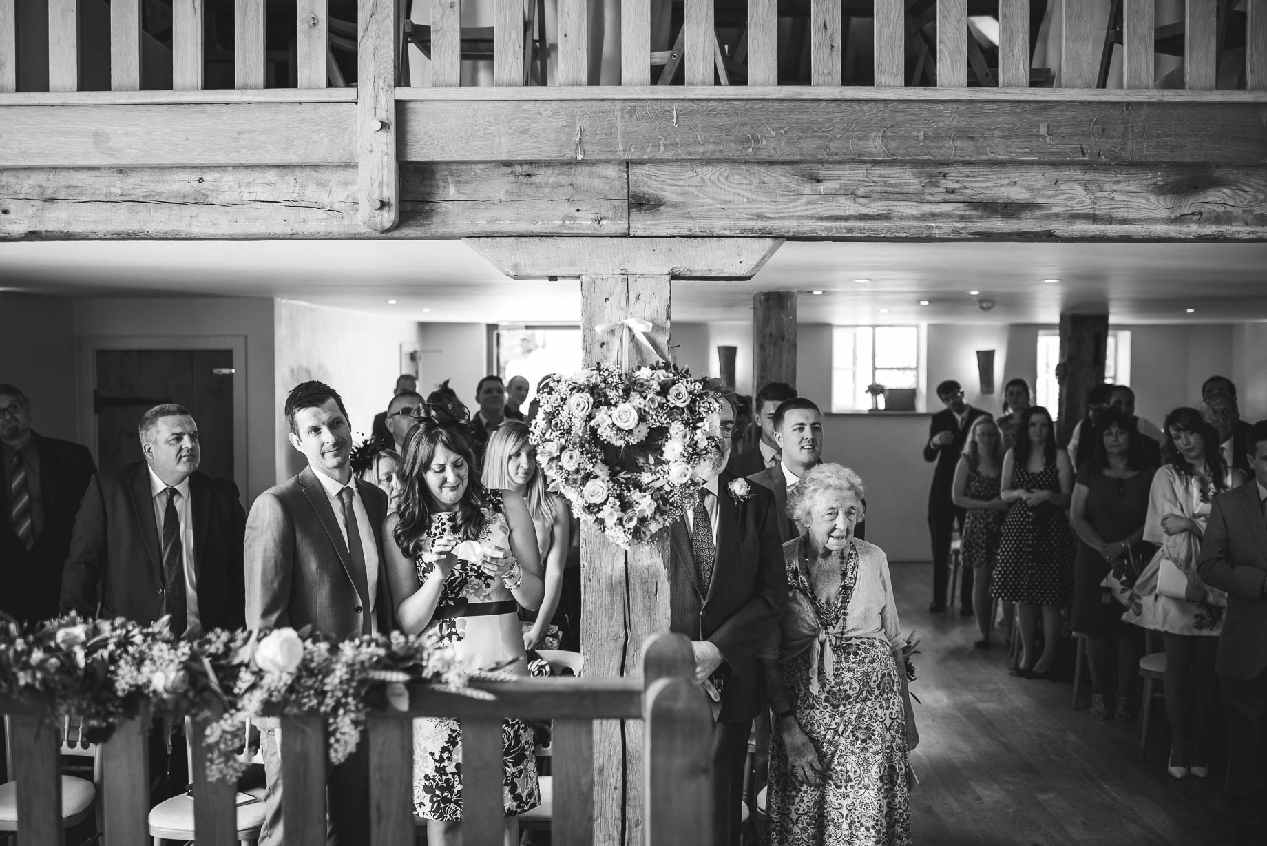 Bury Court Barn wedding photography - Guy Collier - Kirsty and Lewis (55 of 150)