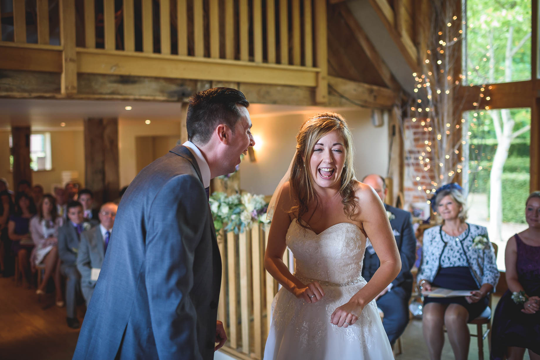 Bury Court Barn wedding photography - Guy Collier - Kirsty and Lewis (63 of 150)