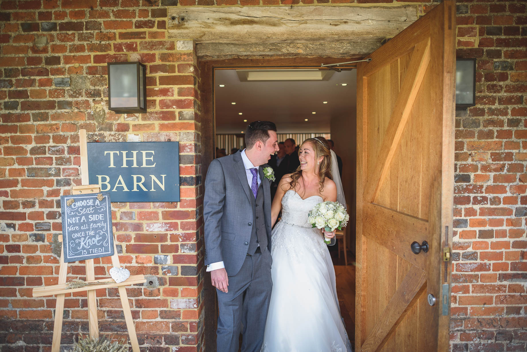Bury Court Barn wedding photography - Guy Collier - Kirsty and Lewis (68 of 150)