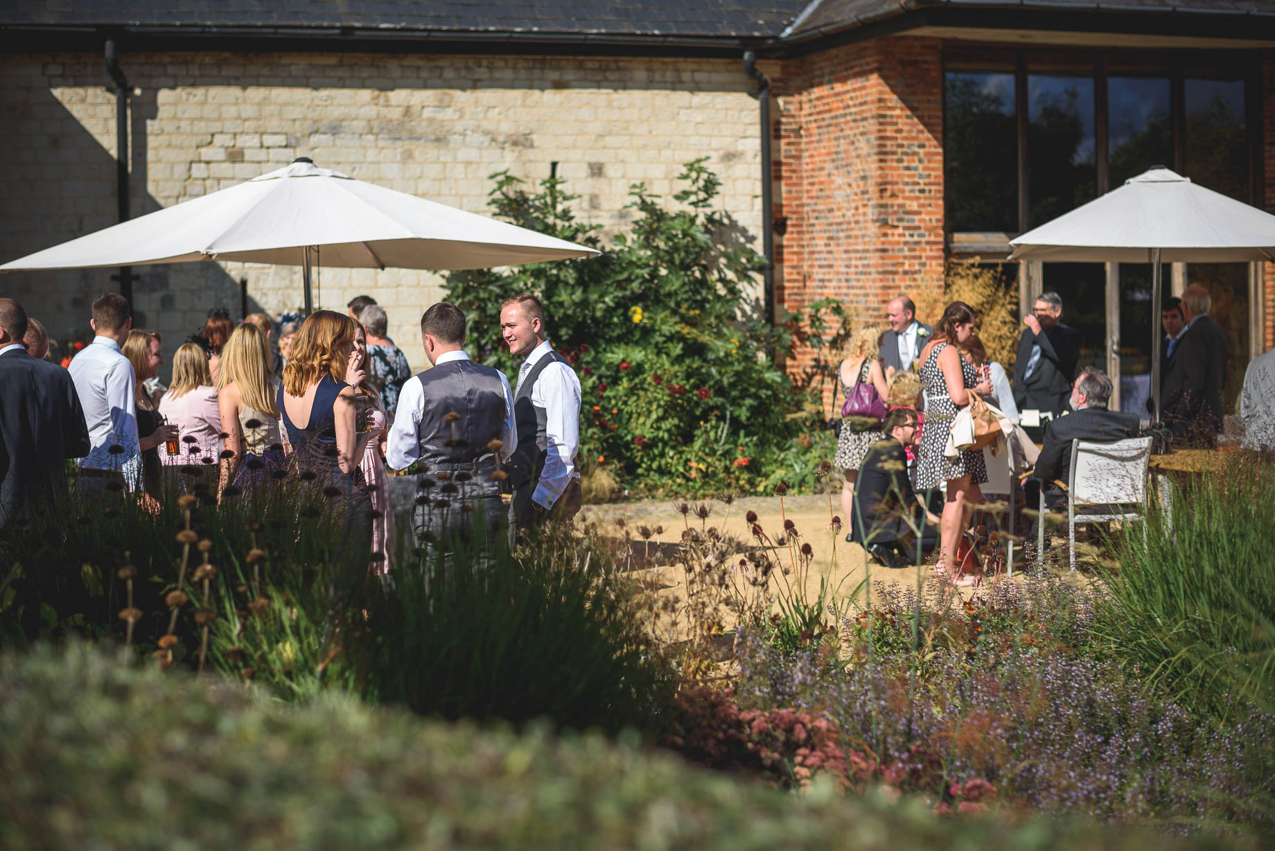 Bury Court Barn wedding photography - Guy Collier - Kirsty and Lewis (79 of 150)