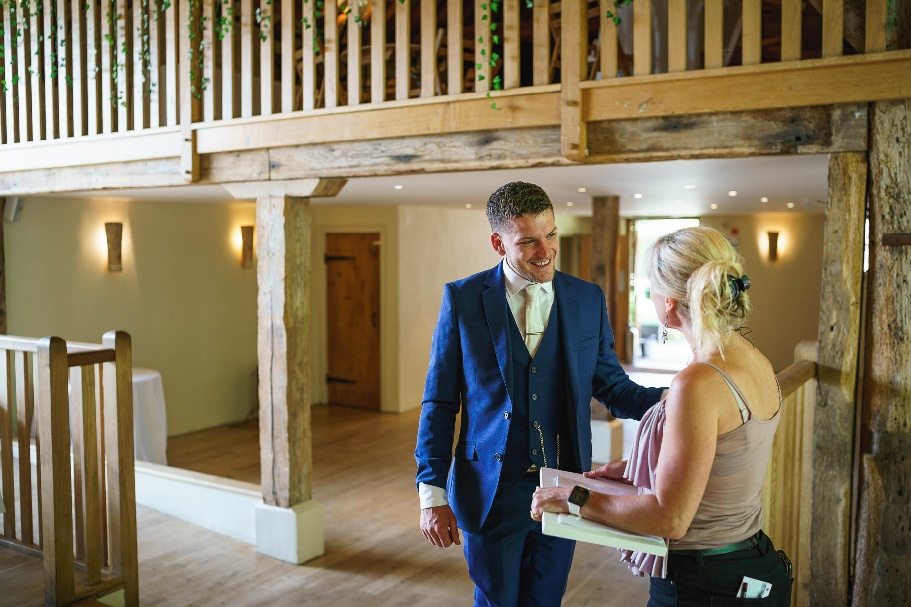 Bury Court Barn wedding photography - Jen + Harry