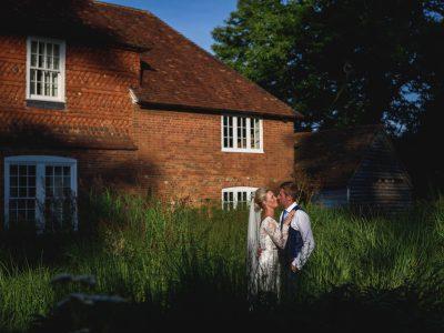 Bury Court Barn wedding photography - Rachel + Richard
