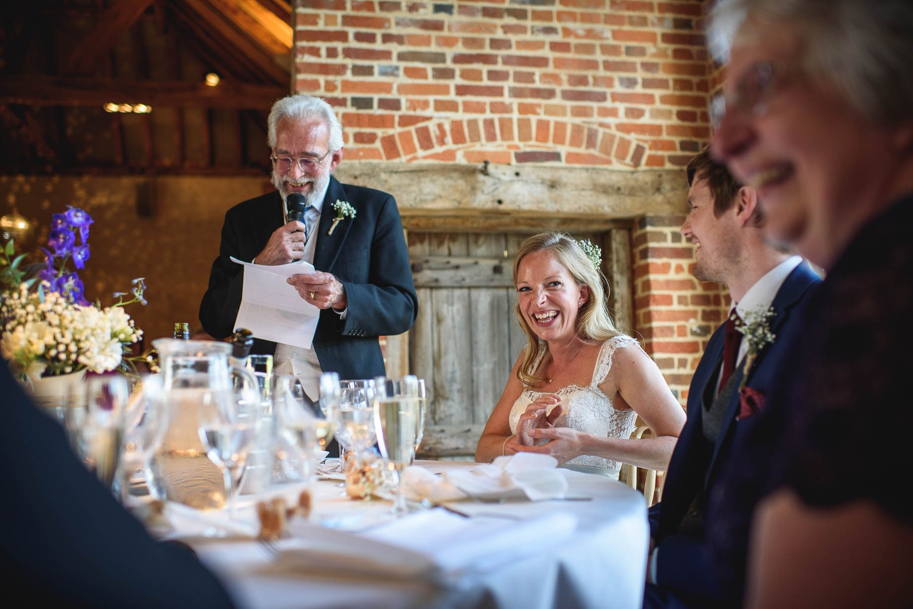 Bury Court Barn wedding photography by Guy Collier - Heather and Pat (133 of 170)