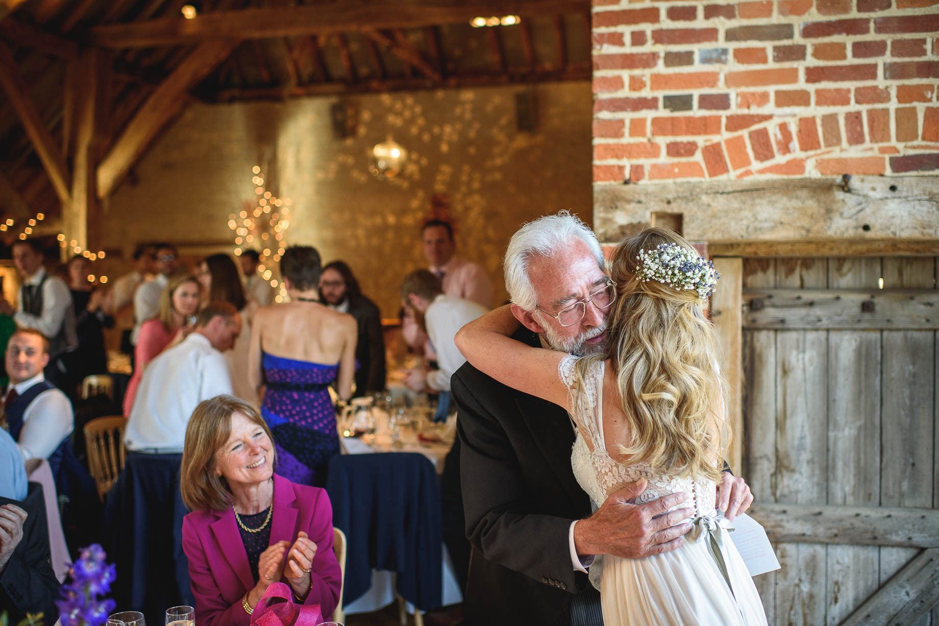 Bury Court Barn wedding photography by Guy Collier - Heather and Pat (138 of 170)