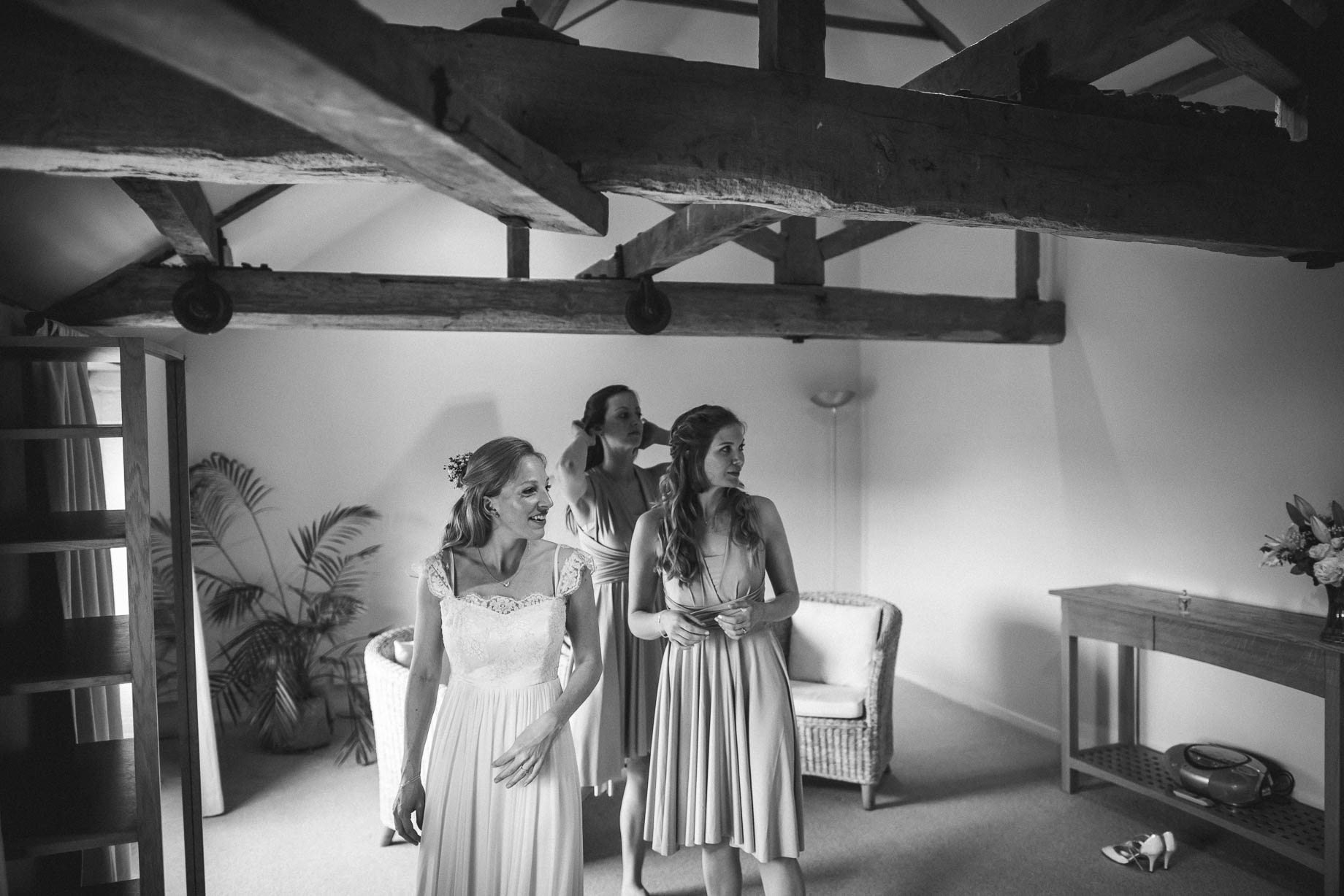 Bury Court Barn wedding photography by Guy Collier - Heather and Pat (14 of 170)