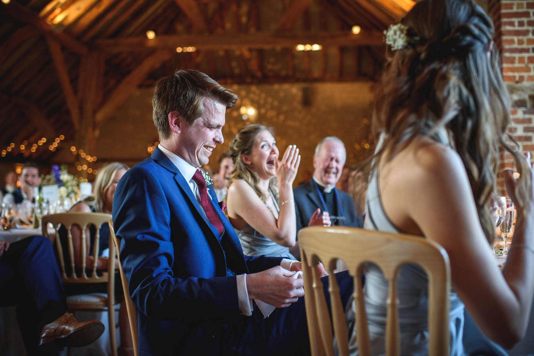 Bury Court Barn wedding photography by Guy Collier - Heather and Pat (147 of 170)