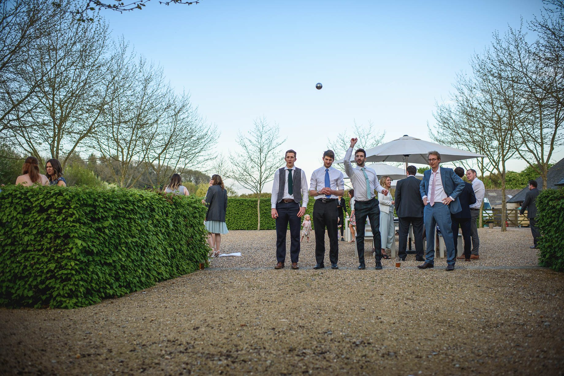 Bury Court Barn wedding photography by Guy Collier - Heather and Pat (157 of 170)