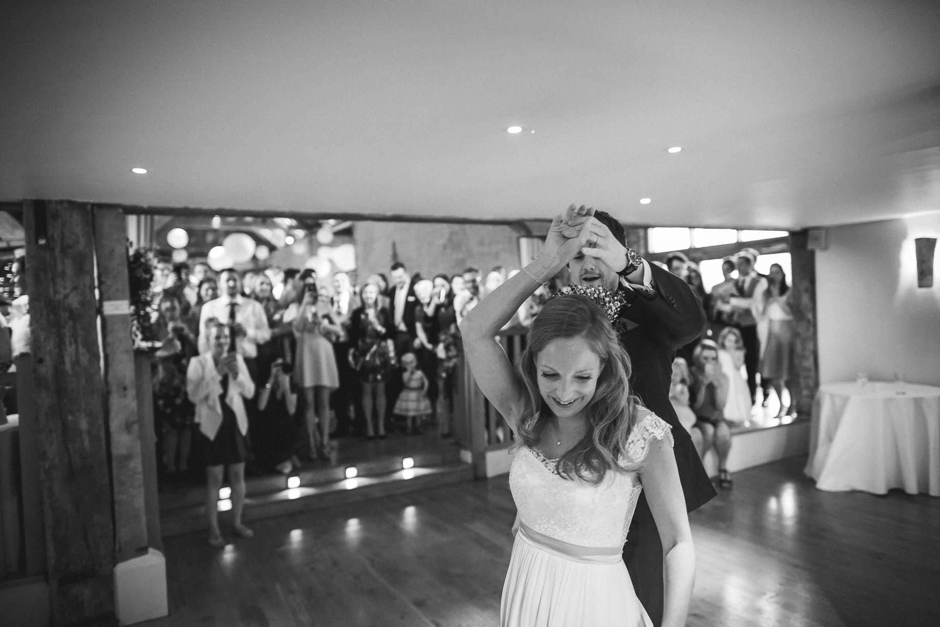 Bury Court Barn wedding photography by Guy Collier - Heather and Pat (159 of 170)