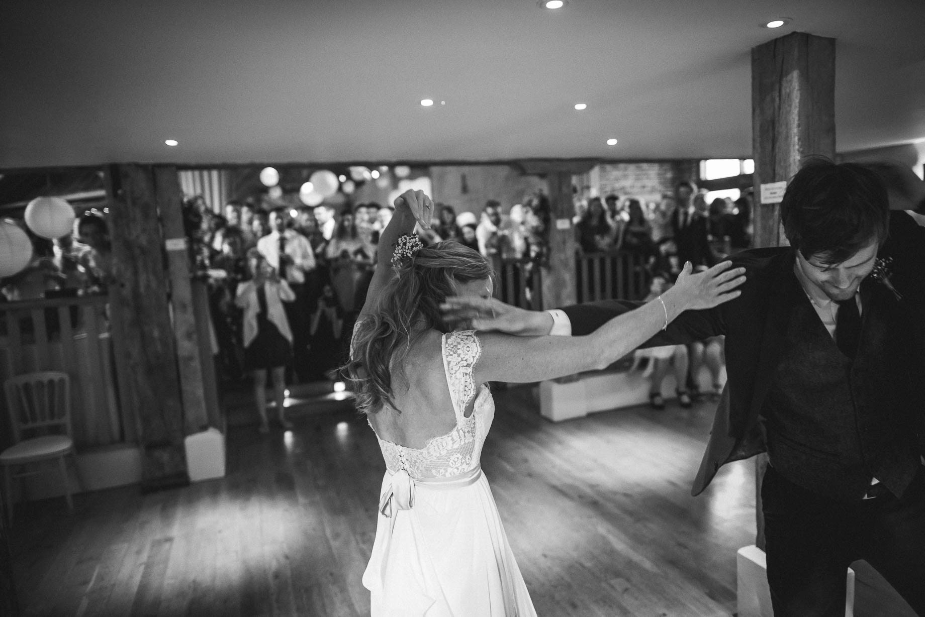 Bury Court Barn wedding photography by Guy Collier - Heather and Pat (160 of 170)