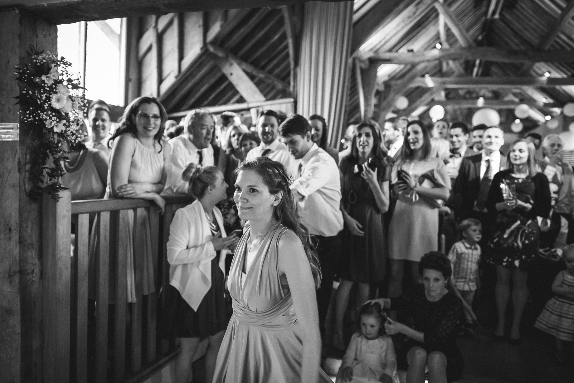 Bury Court Barn wedding photography by Guy Collier - Heather and Pat (161 of 170)
