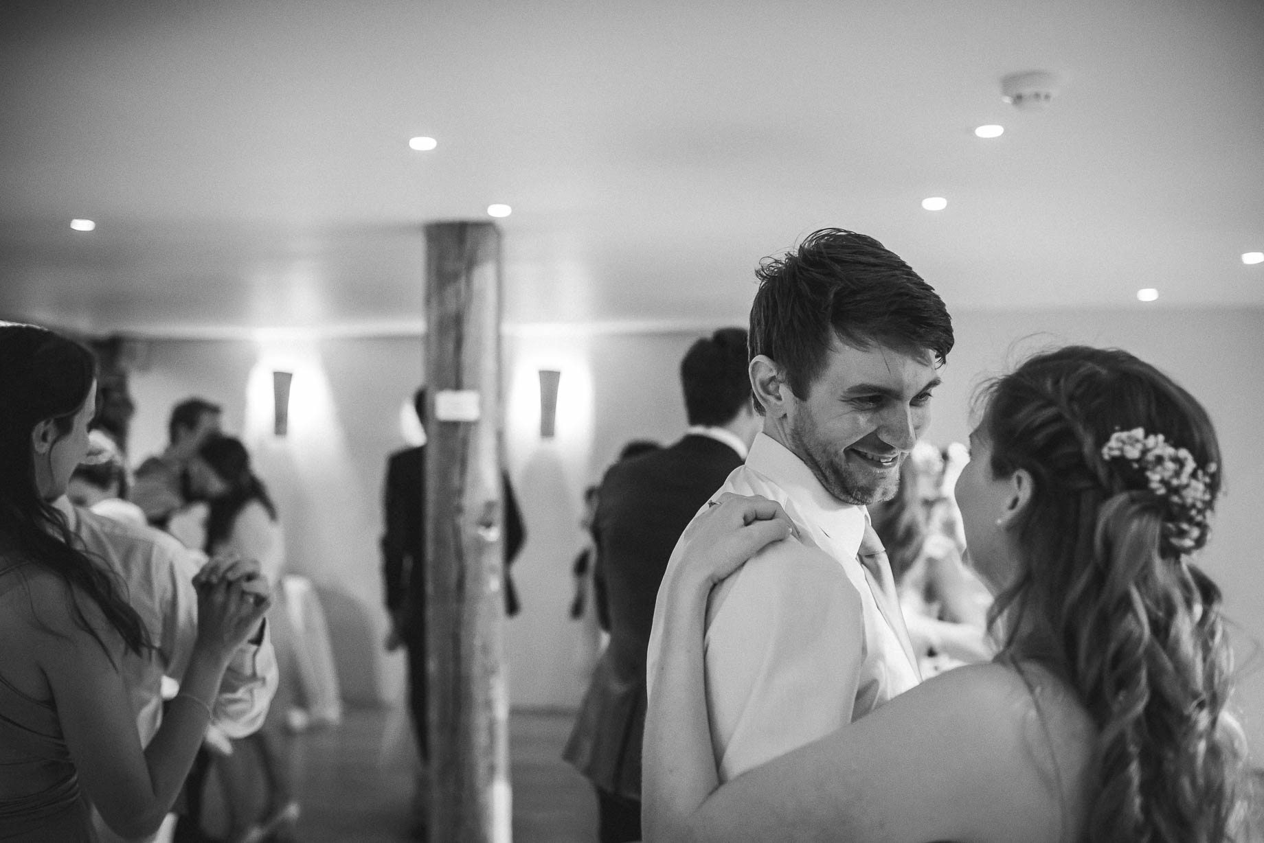Bury Court Barn wedding photography by Guy Collier - Heather and Pat (165 of 170)