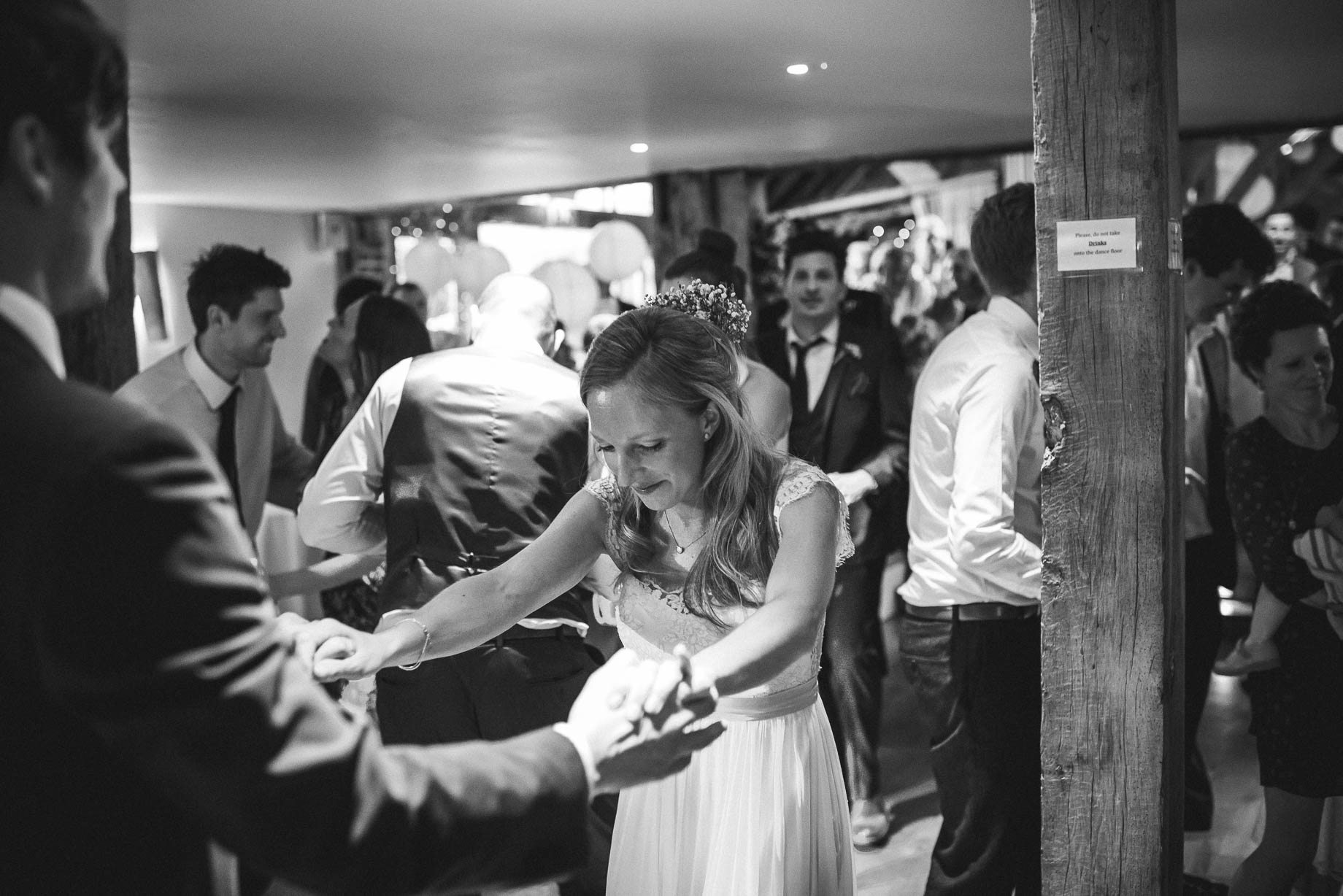 Bury Court Barn wedding photography by Guy Collier - Heather and Pat (168 of 170)