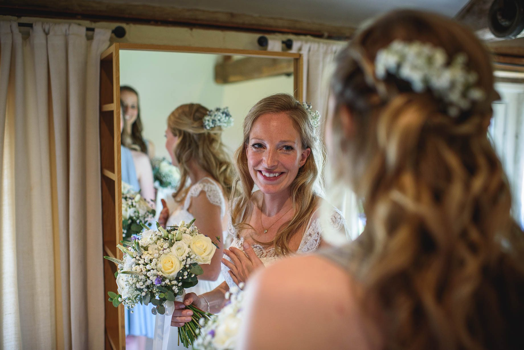 Bury Court Barn wedding photography by Guy Collier - Heather and Pat (23 of 170)